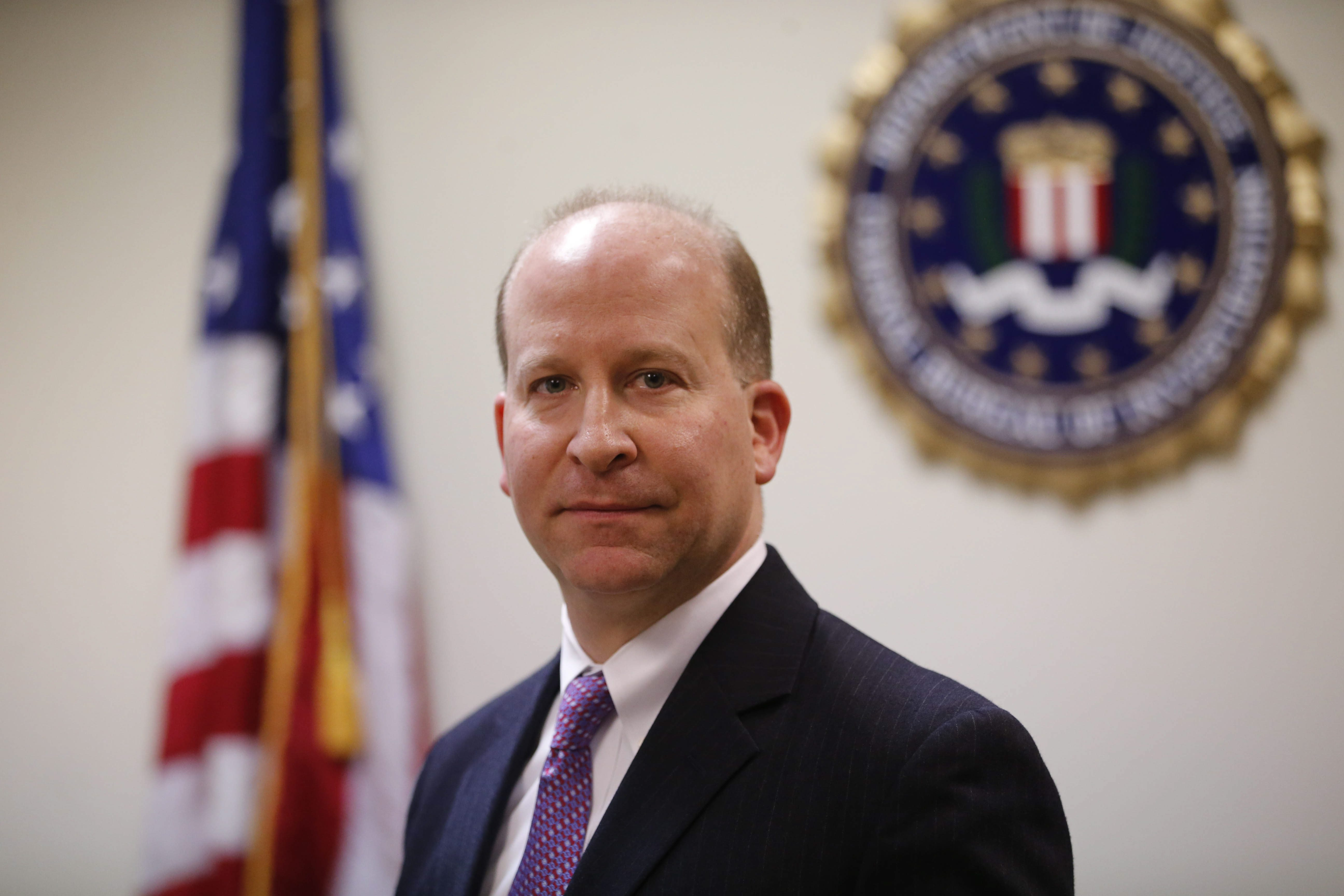 FBI Special Agent-In-Charge Adam Cohen who runs the FBI's Buffalo Field Office..  (Derek Gee/Buffalo News)