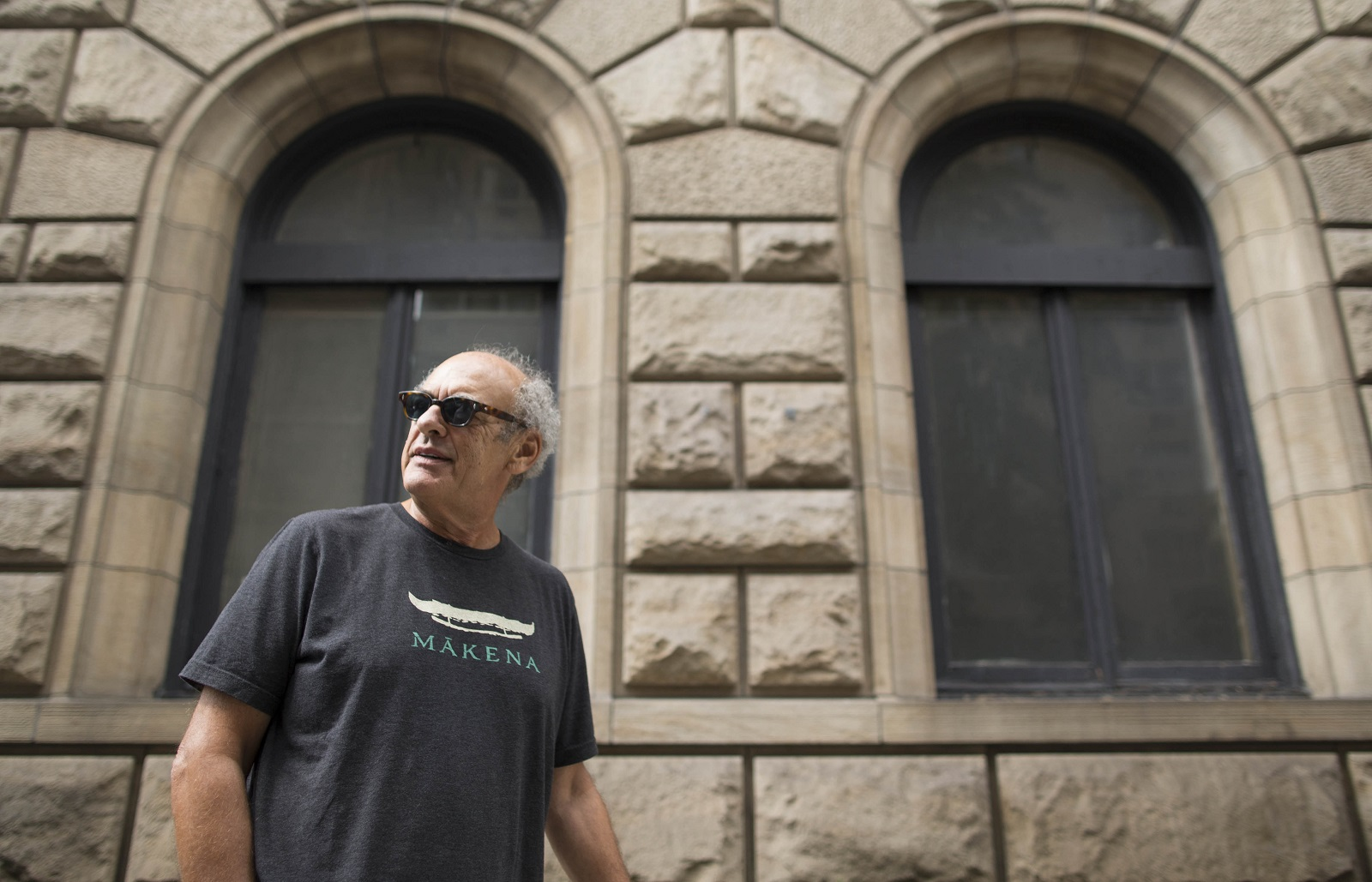Legendary producer Shep Gordon walks on Lexington Avenue in New York City. (Derek Gee/Buffalo News)