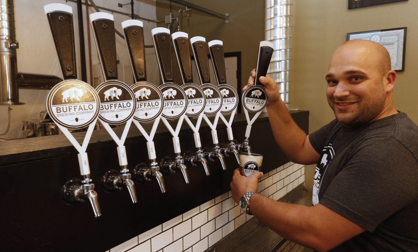 John Domres is co-owner of Buffalo Brewing Company, which has big plans for St. Patrick's Day in Buffalo. (Robert Kirkham/Buffalo News file photo)