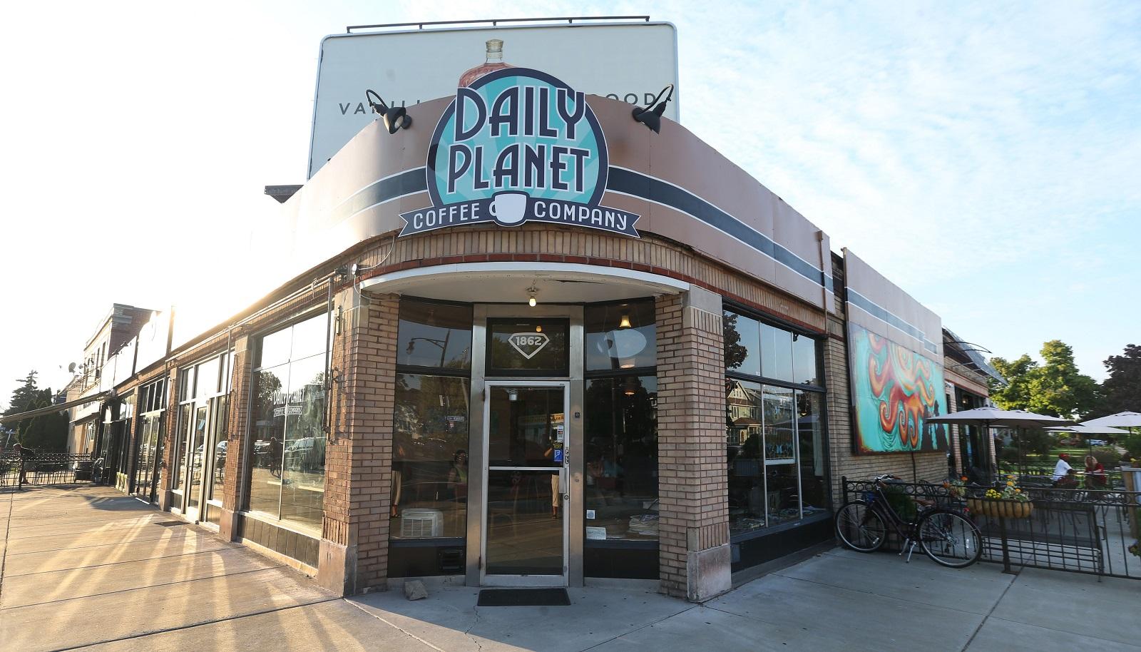 Daily Planet Coffee at 1862 Hertel Ave. (Sharon Cantillon/Buffalo News)