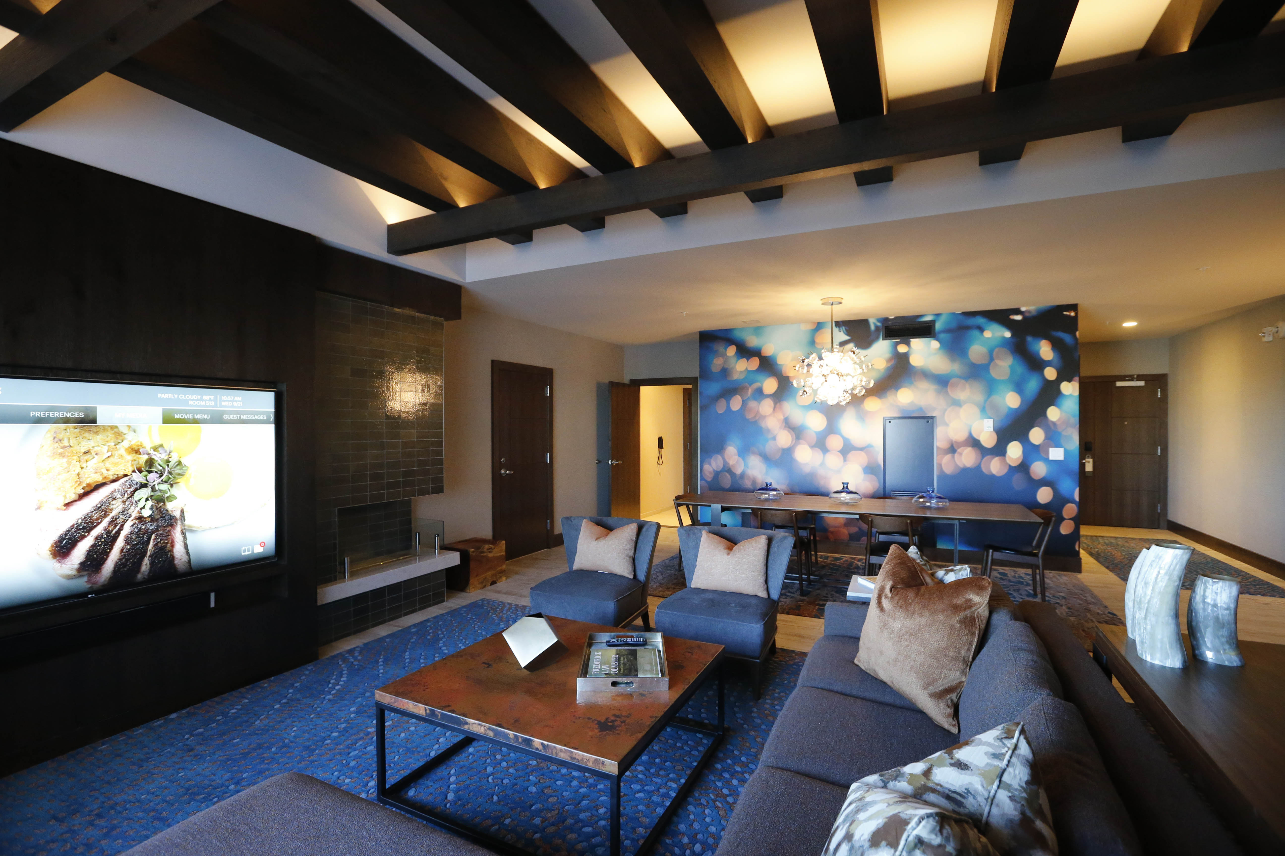 The Chairman's Suite in the new Westin Hotel.(Derek Gee/Buffalo News)