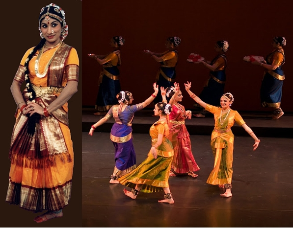 "Natya School of Indian Classical Dance presents ""Abhinandanam."" (Photo courtesy of Natya School of Indian Classical Dance)"