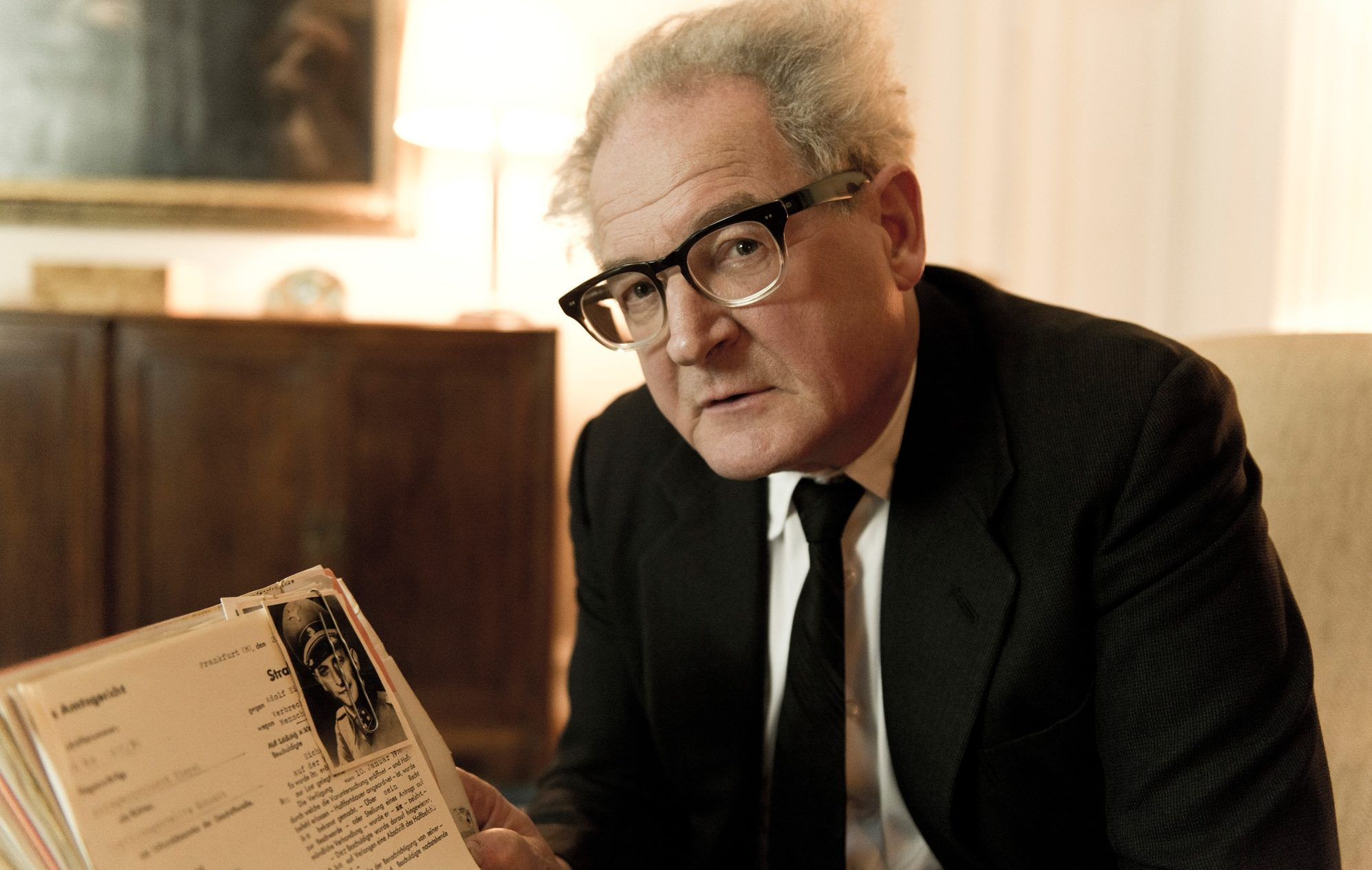 "Public prosecutor Fritz Bauer, played by Burghart Klaussner, battles the system to bring Adolf Eichmann to justice in ""The People Vs. Fritz Bauer."""
