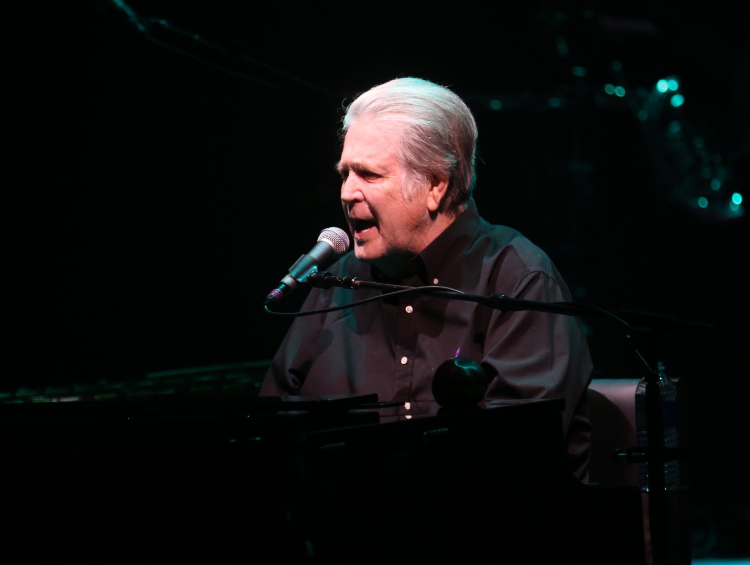 "Brian Wilson performs at UB's Center for the Arts for ""Pet Sounds"" anniversary tour Wednesday. (Sharon Cantillon/Buffalo News)"