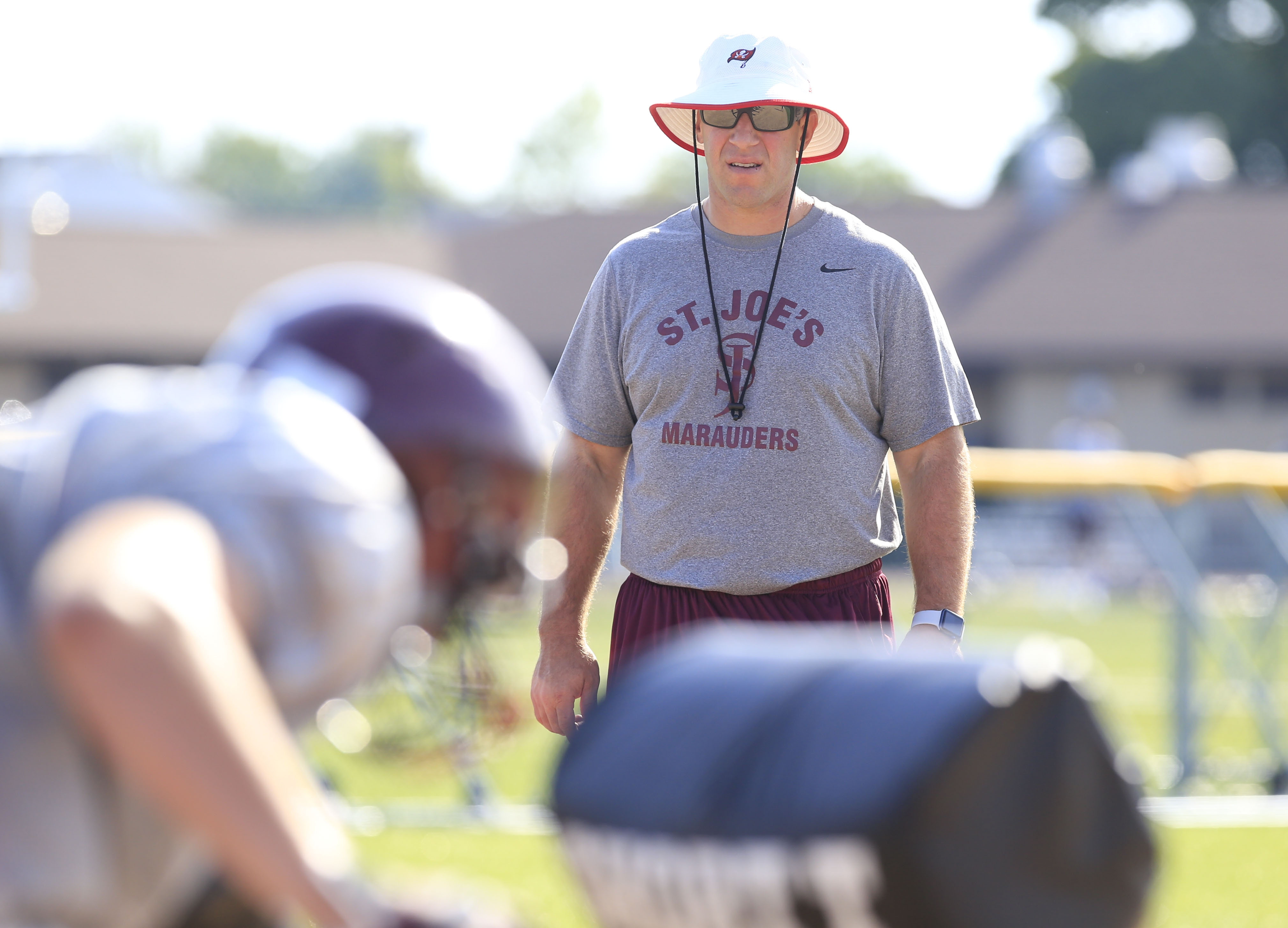 New St. Joe's head coach Derek Landri would like nothing better than to begin his time on the job with a win over South Park on Friday night.