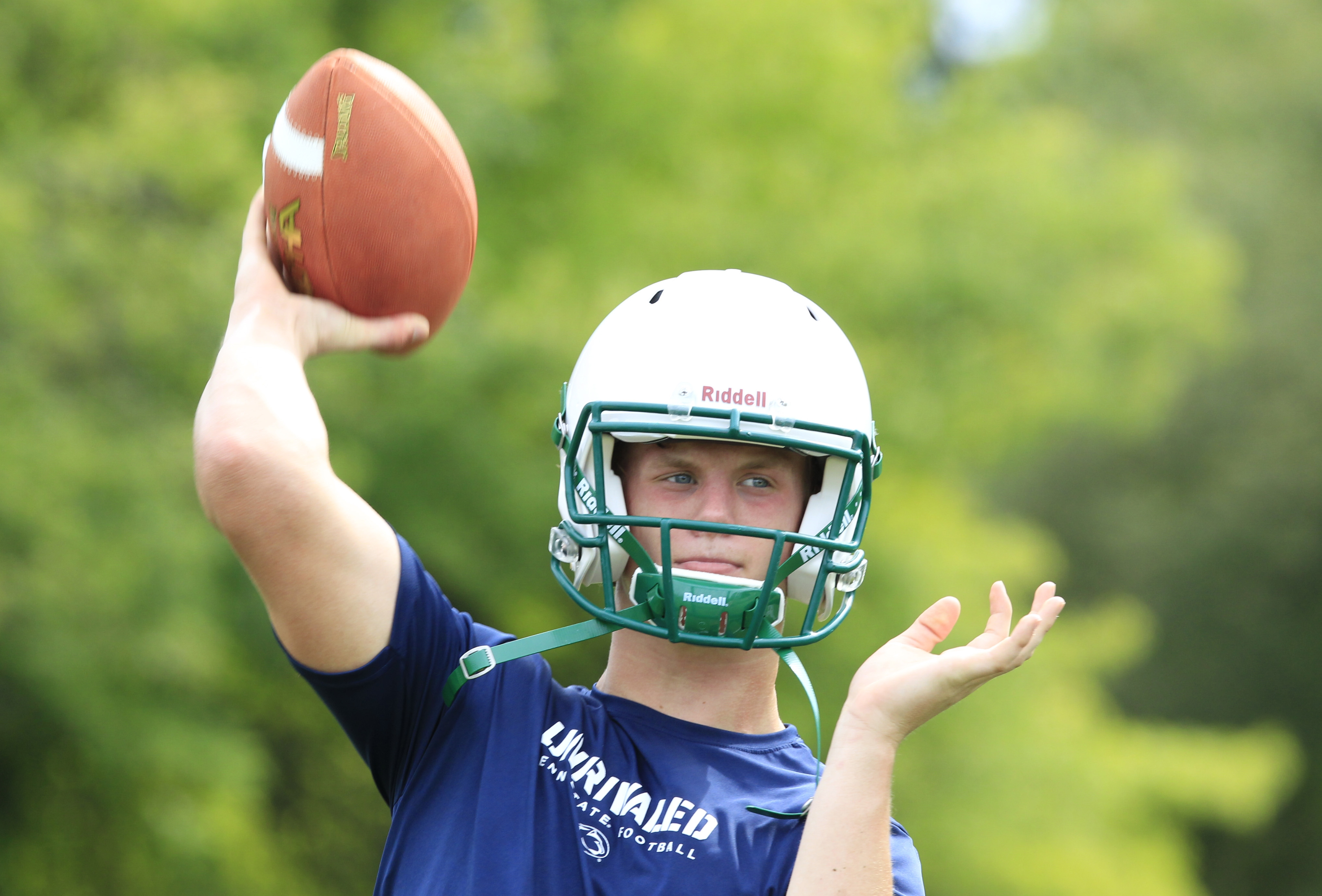 Timon quarterback Matt Myers is coming off a season in which he earned second team All-Western New York. (Harry Scull Jr./Buffalo News)