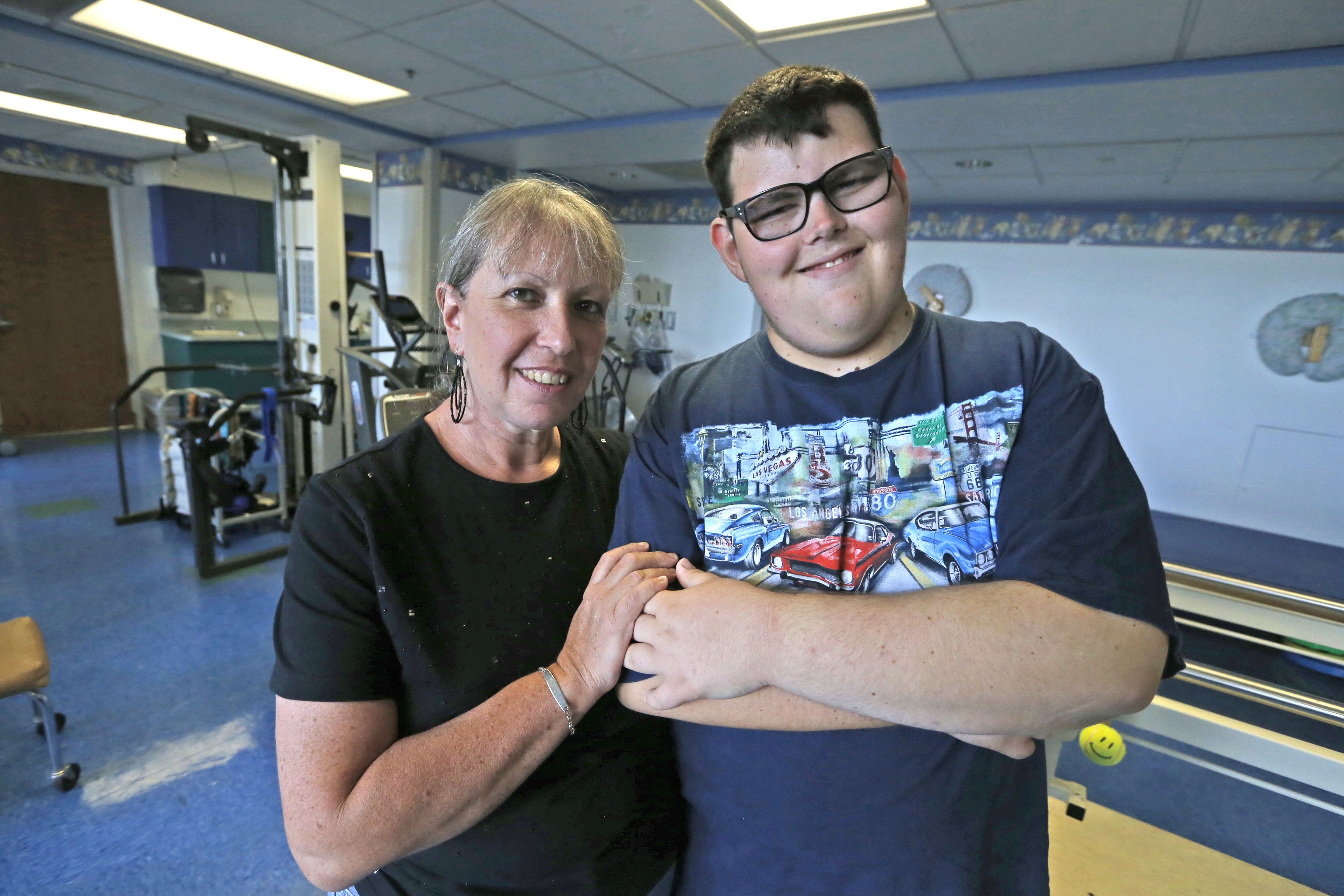 Ethan Milich, 18, of Amherst, and his mother Jennifer turned to the Children's Healthy Weigh of Buffalo to help them create better eating habits.