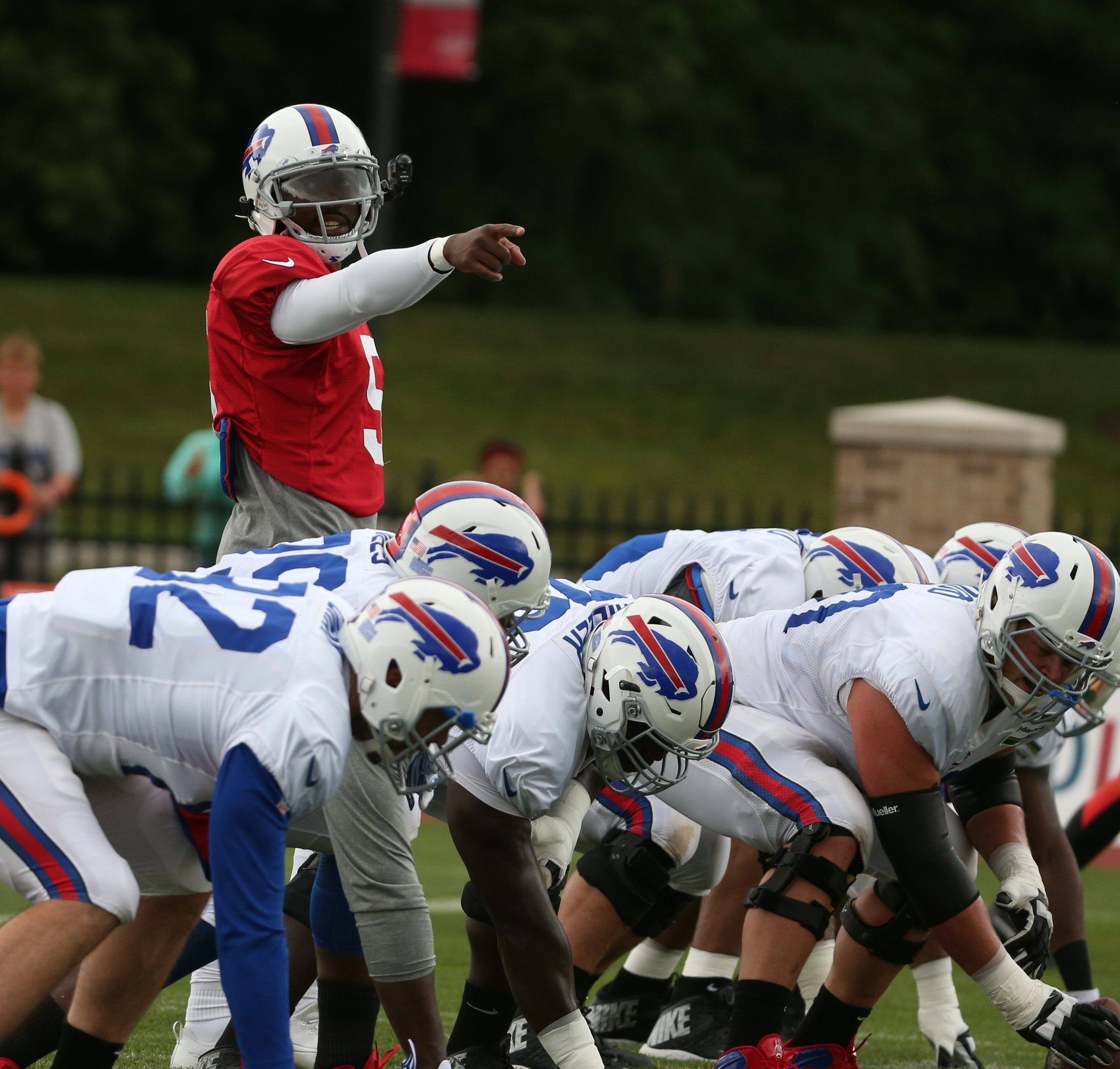Buffalo Bills quarterback Tyrod Taylor no longer is the candidate. He's the commander, and his teammates have noticed the difference.
