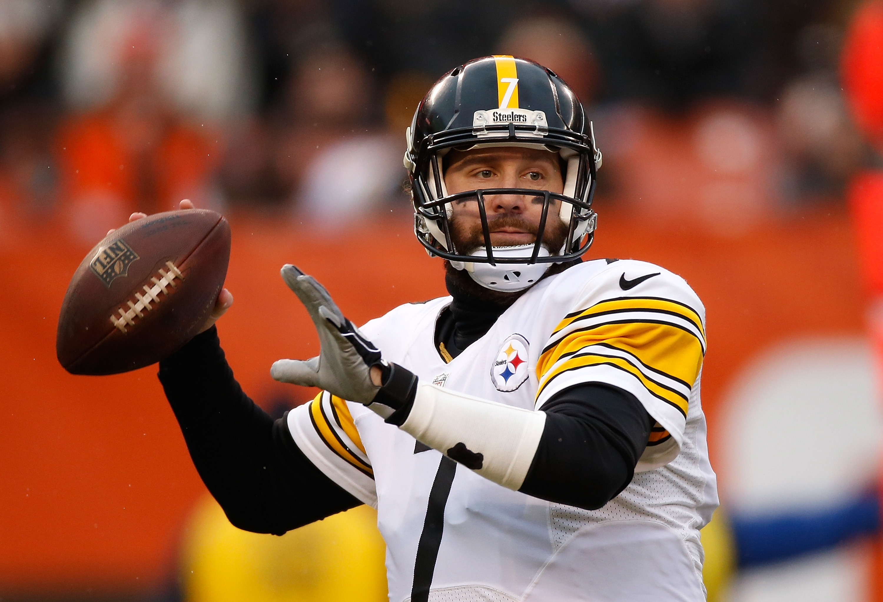 Ben Roethlisberger and the Pittsburgh Steelers start out at the head of the class.(Getty Images)