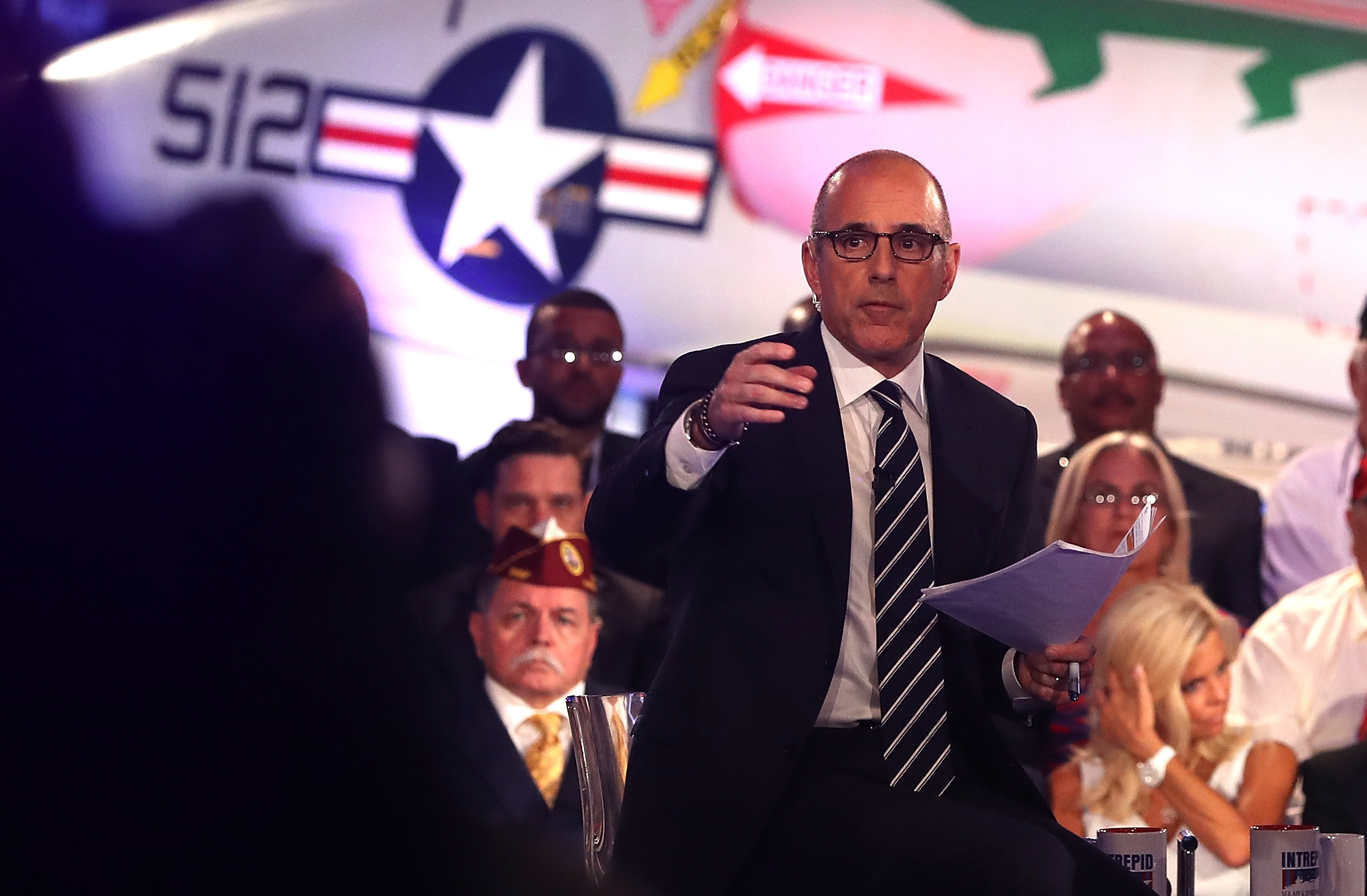 Matt Lauer was not at the top of his game during last week's forum, but it was not his fault.