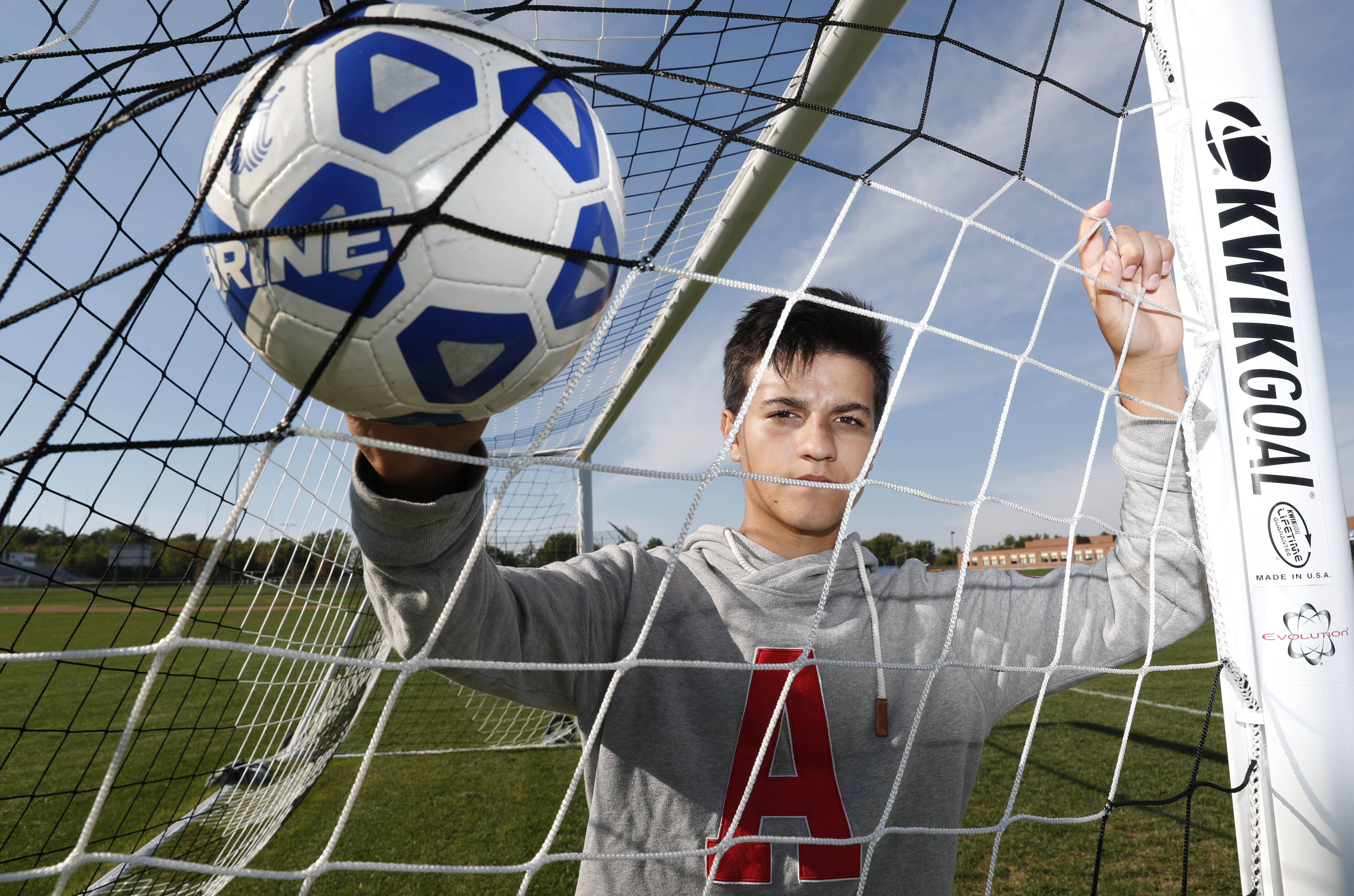 Frontier soccer player Jonah Kozak had the experience of a lifetime this summer at a soccer camp in Germany.