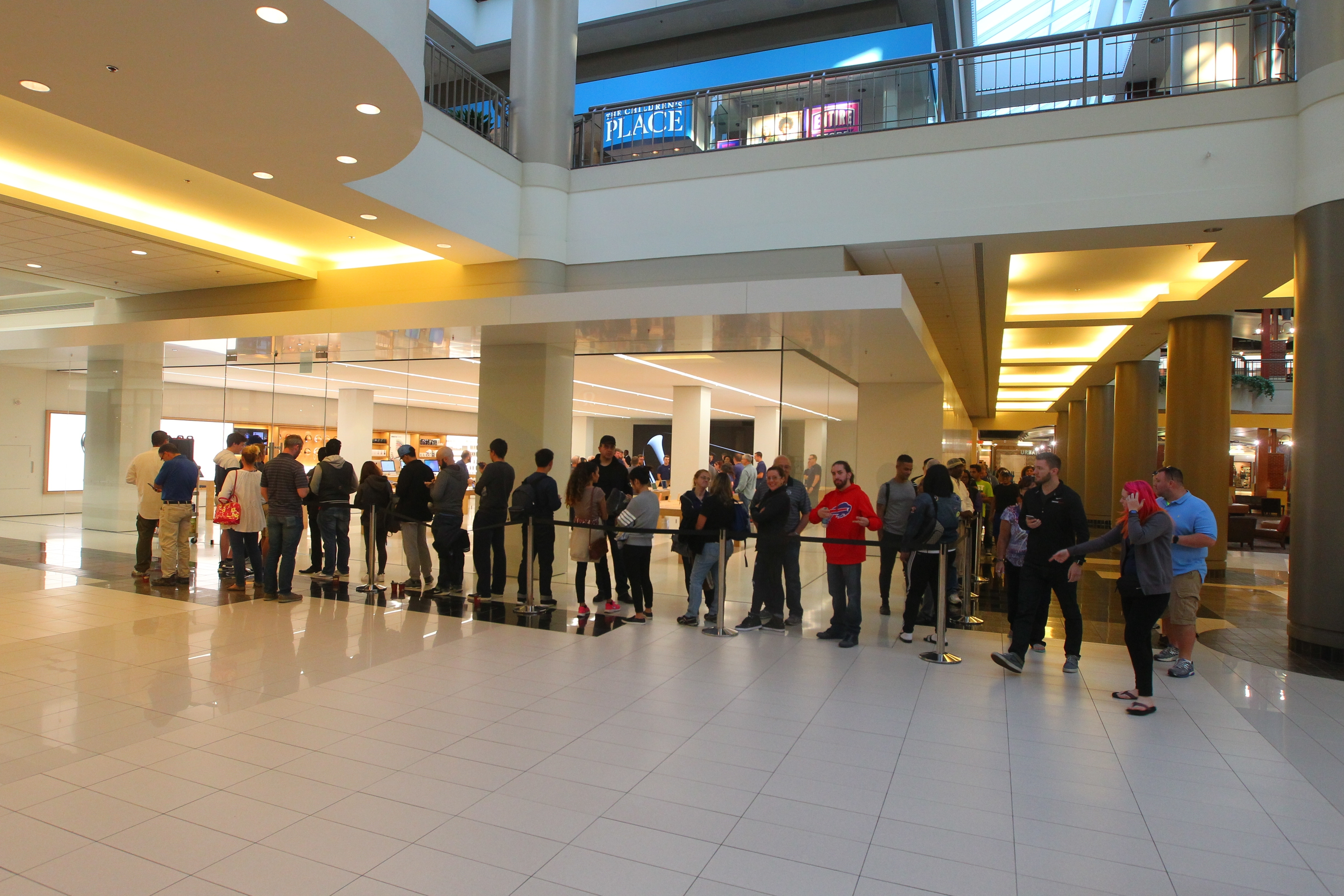Customers began lining up in the wee hours at Apple's Walden Galleria store in Cheektowaga for the iPhone 7. Some were disappointed to find the iPhone 7 Plus model was unavailable unless a prior reservation was made.