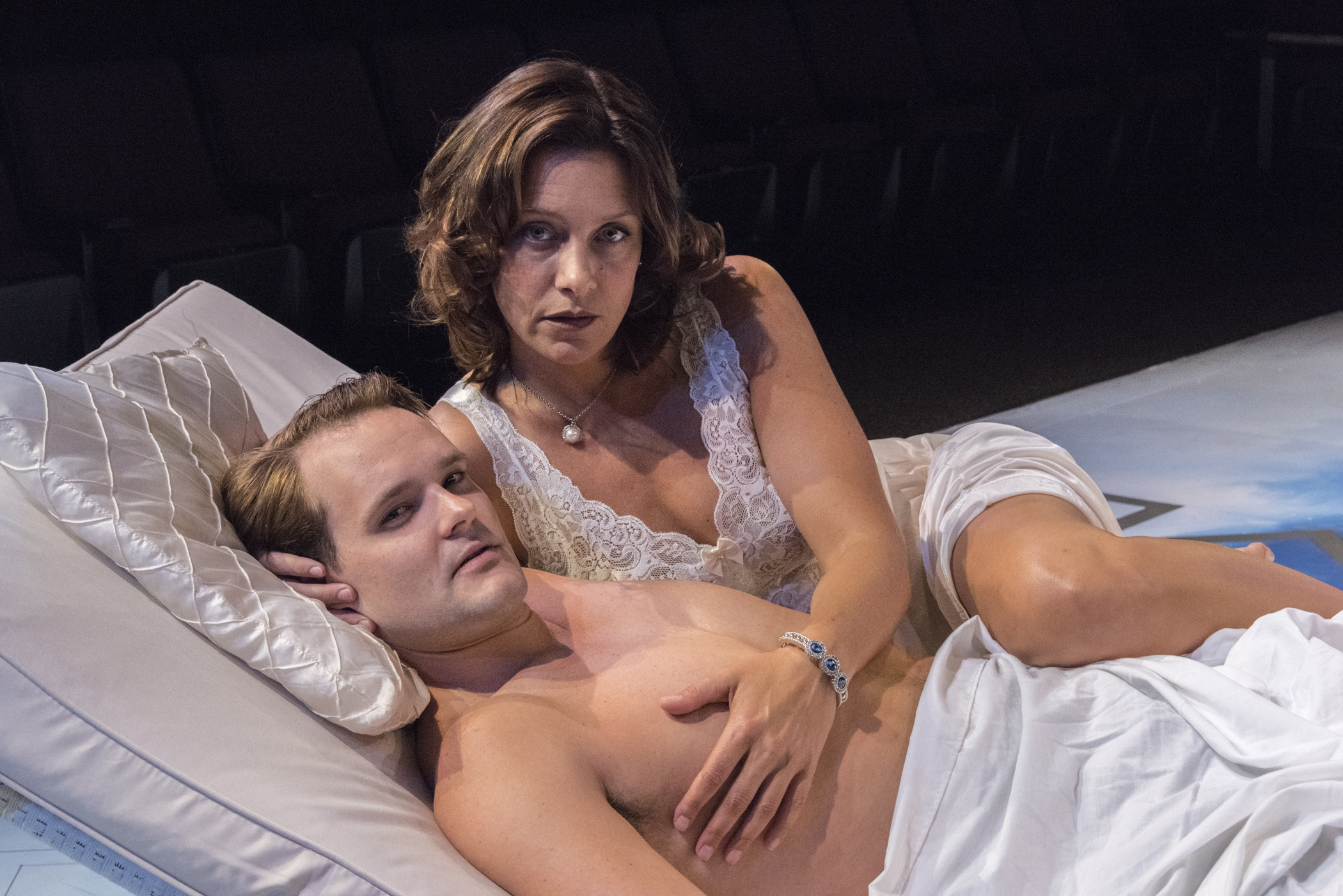 """Patrick Cameron and Aleks Malejs star in the Irish Classical Theatre Company's season-opening production of Tennessee Wiliam's """"Sweet Bird of Youth."""""""