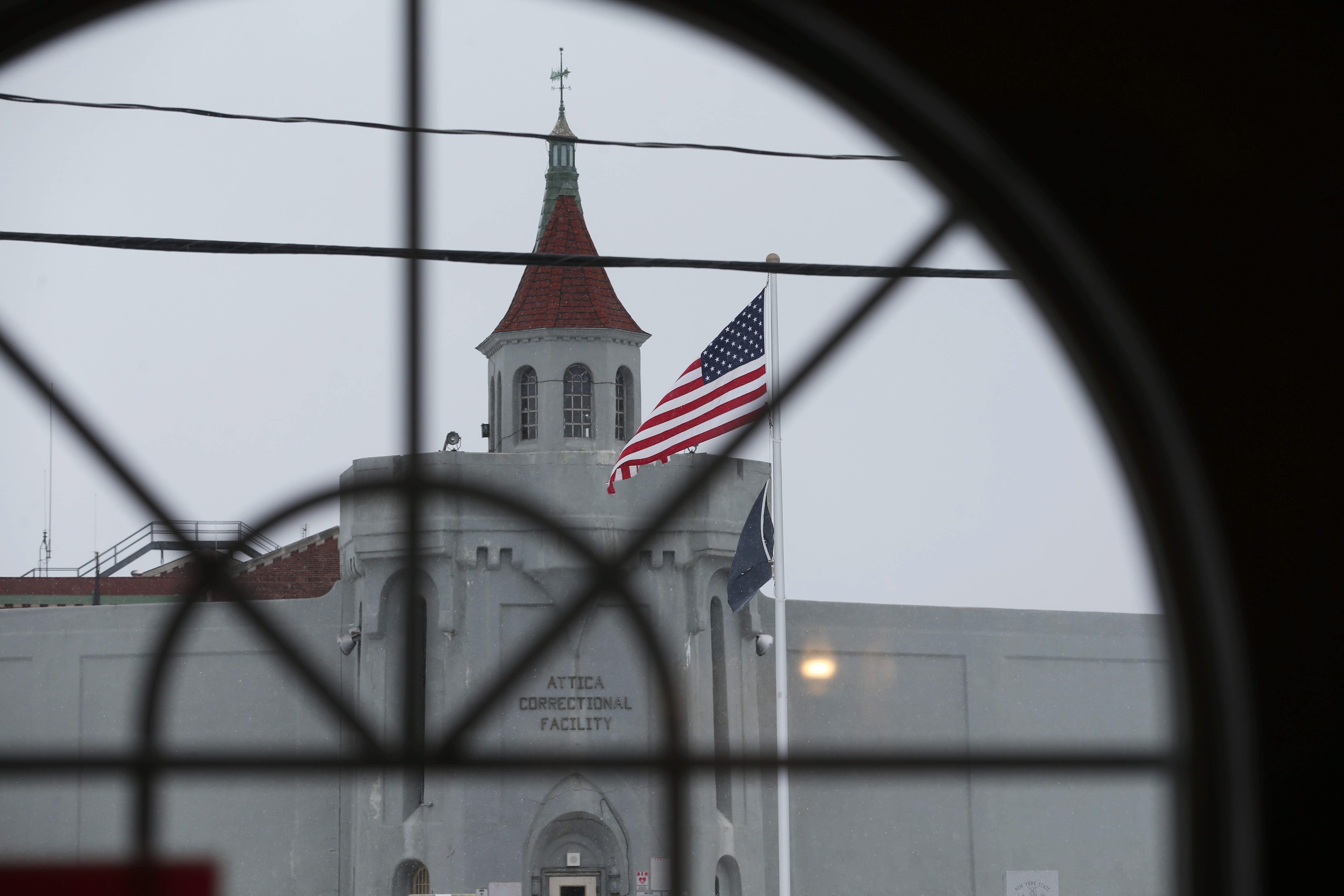 Attica Correctional Facility. (Sharon Cantillon/News file photo)