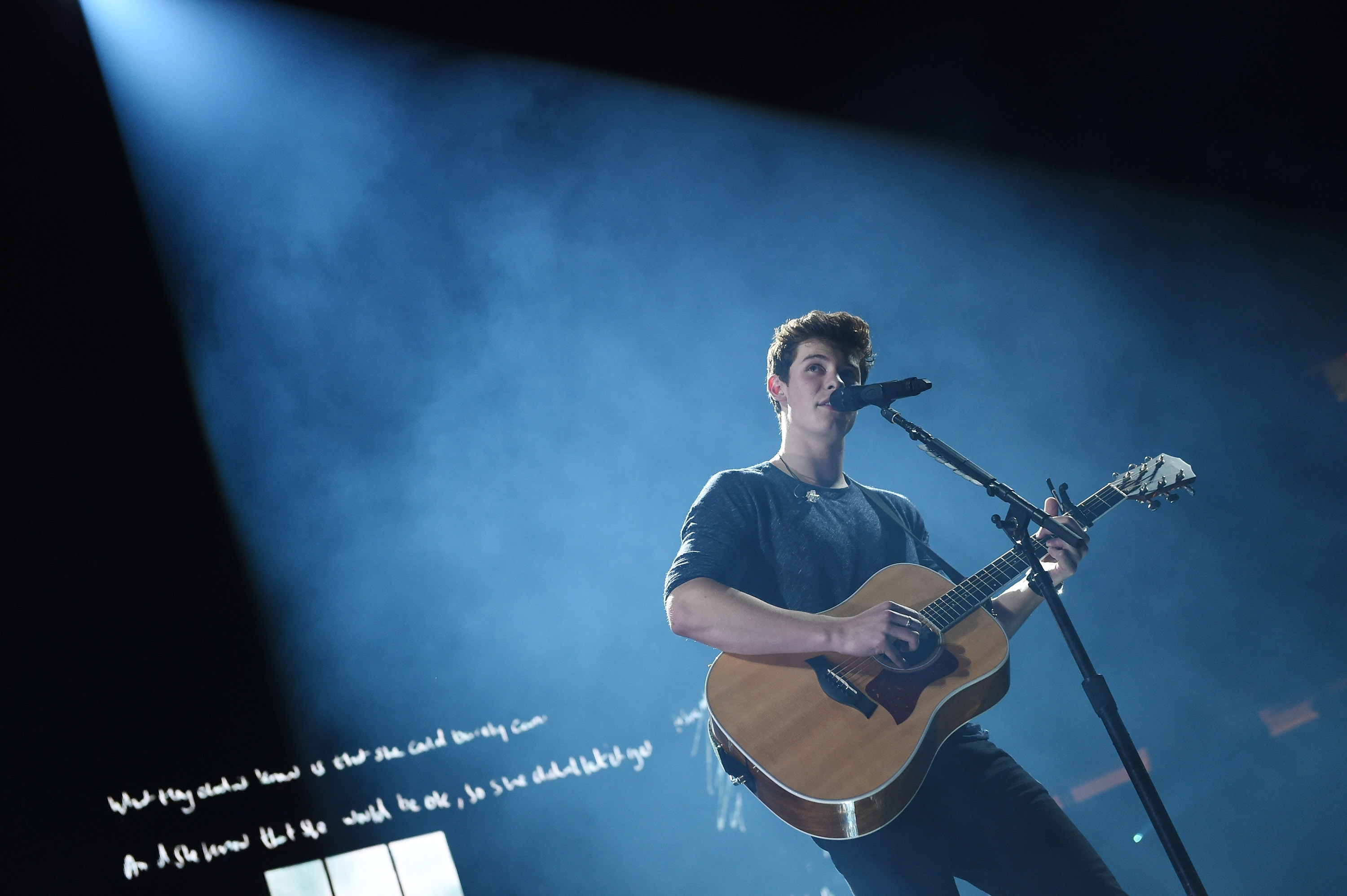 """Shawn Mendes performs before a sold-out Madison Square Garden on Sept. 10,introducing tunes from his new album """"Illuminate,"""" which was released last week."""