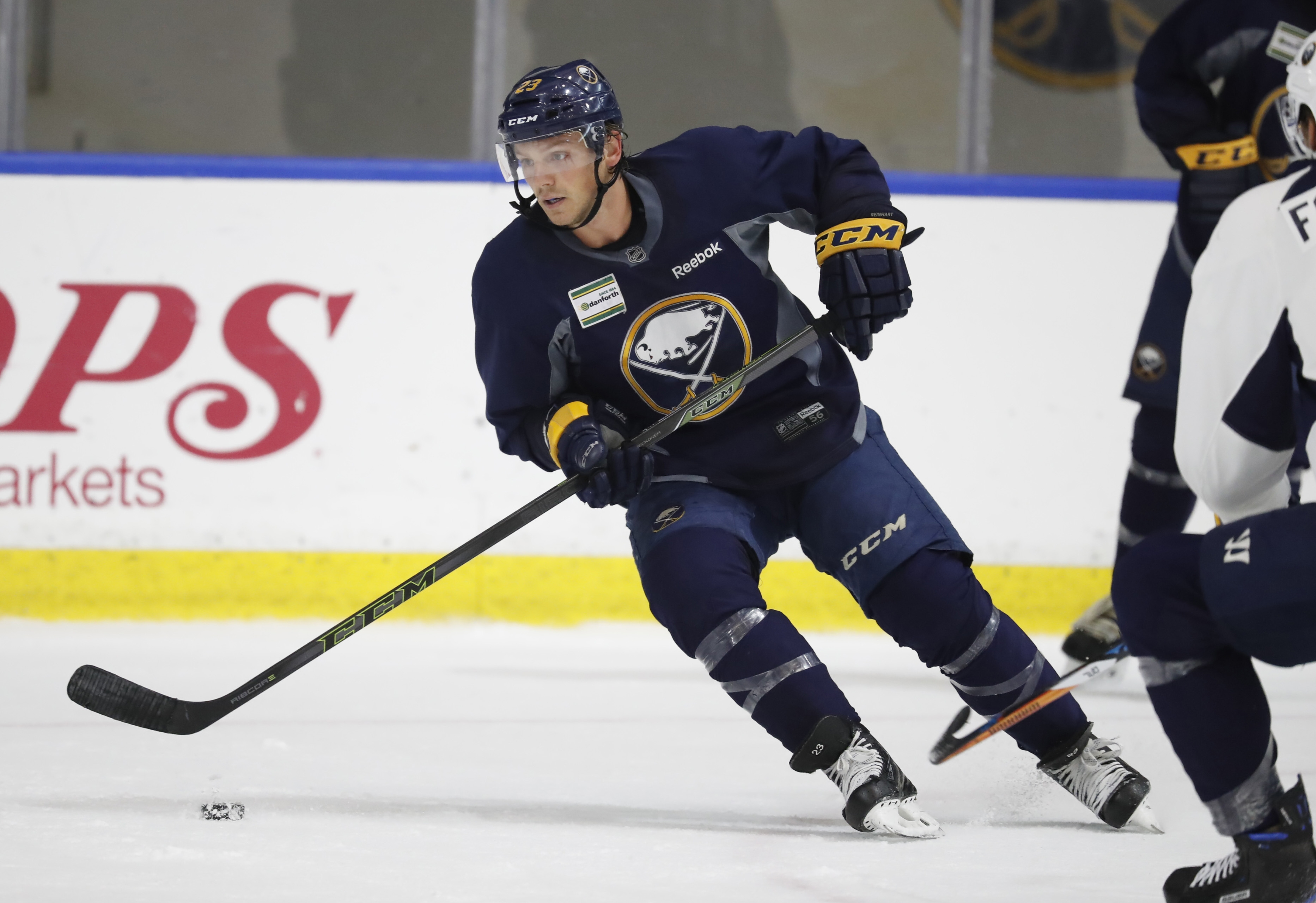 Buffalo Sabre Sam Reinhart.  (Harry Scull Jr./Buffalo News file photo)