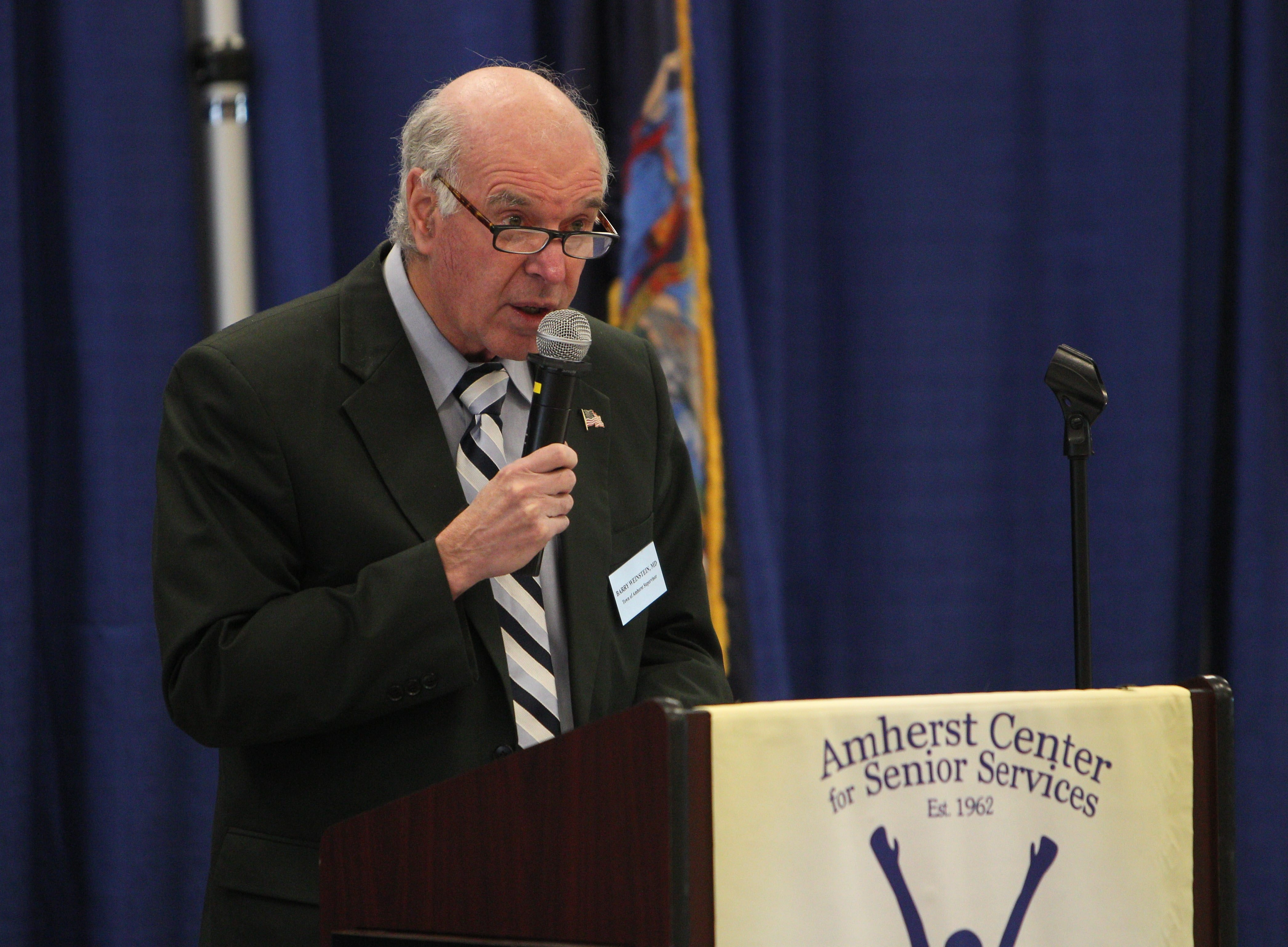 Amherst Town Supervisor Barry Weinstein plans to propose the first hike in the town's tax levy in six years. (Sharon Cantillon/Buffalo News file photo)