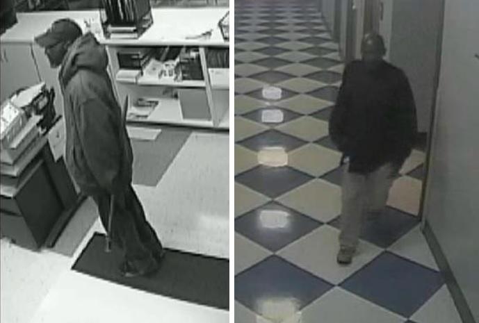 Two burglars broke into the Stanley Makowski Early Childhood Center, 1099 Jefferson Ave., last weekend. (Buffalo police)