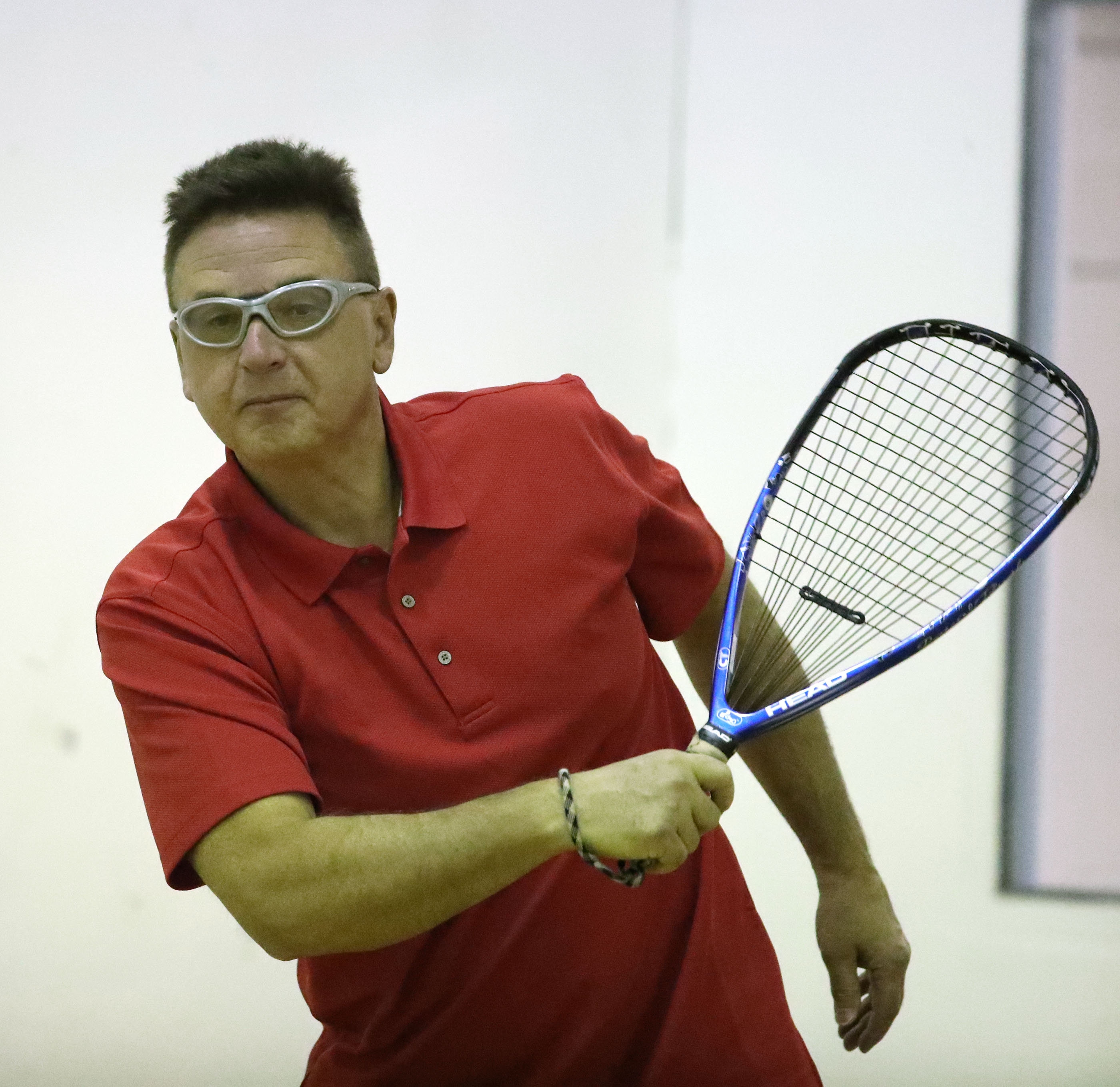 Brian Mach  is the oldest ever to achieve the No. 1 ranking in the City Racquetball Open Division (James P. McCoy/Buffalo News)