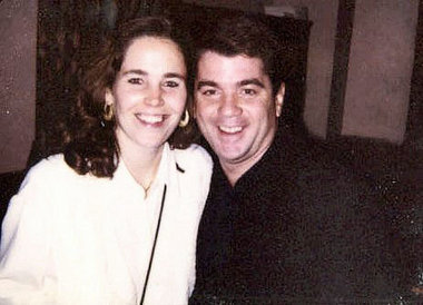 Mark Morabito with his first wife, Laura Lee, who died Sept. 11, 2001 (Family photo)