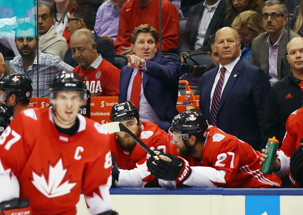 Coach Mike Babcock and captain Sidney Crosby have been staples for Team Canada since the 2010 Olympics (Getty Images).