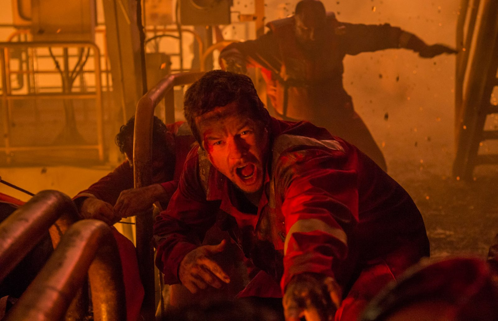 A scene from in 'Deepwater Horizon.' (Lionsgate)
