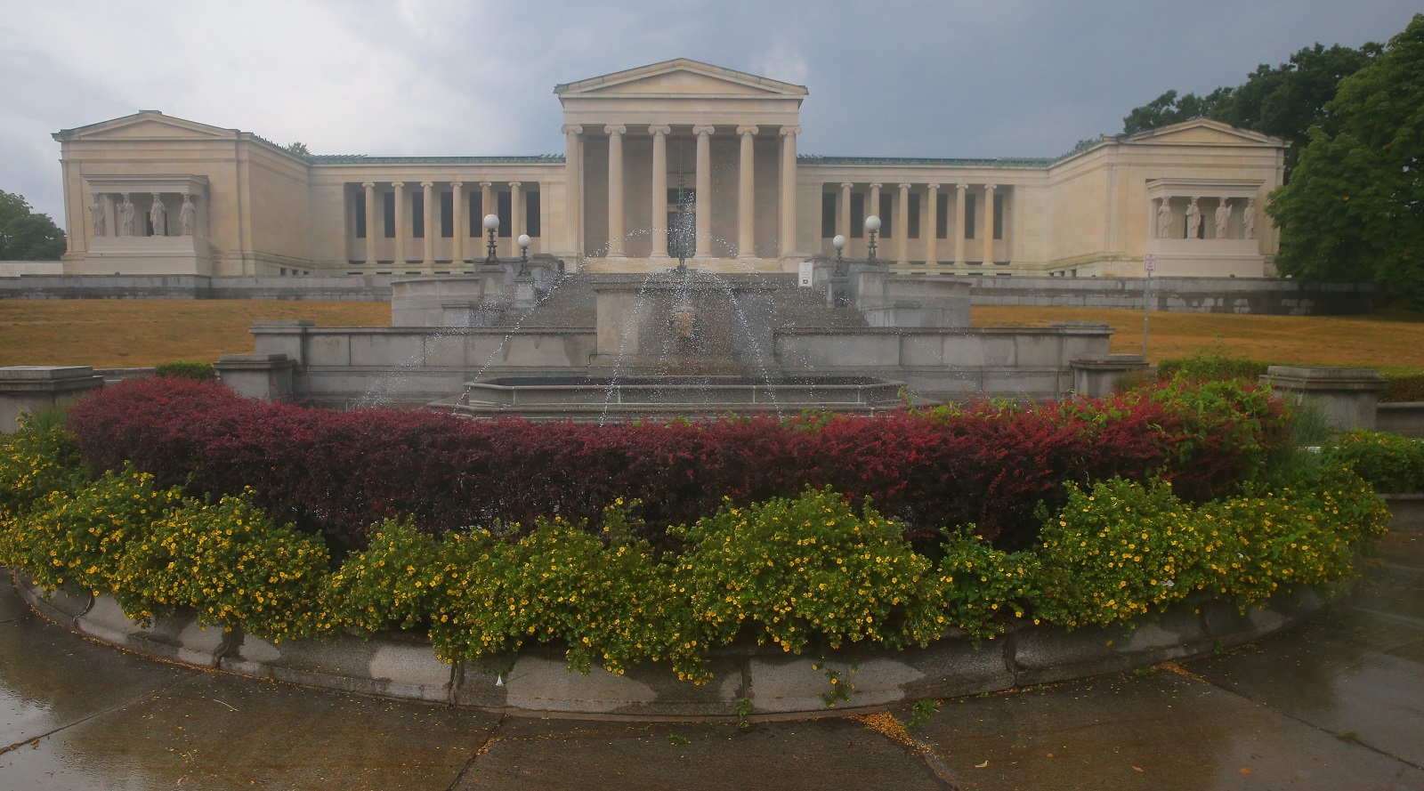 The Albright-Knox Art Gallery will host an Art of Yoga class at 3 p.m. on Tuesday. (John Hickey/News file photo)