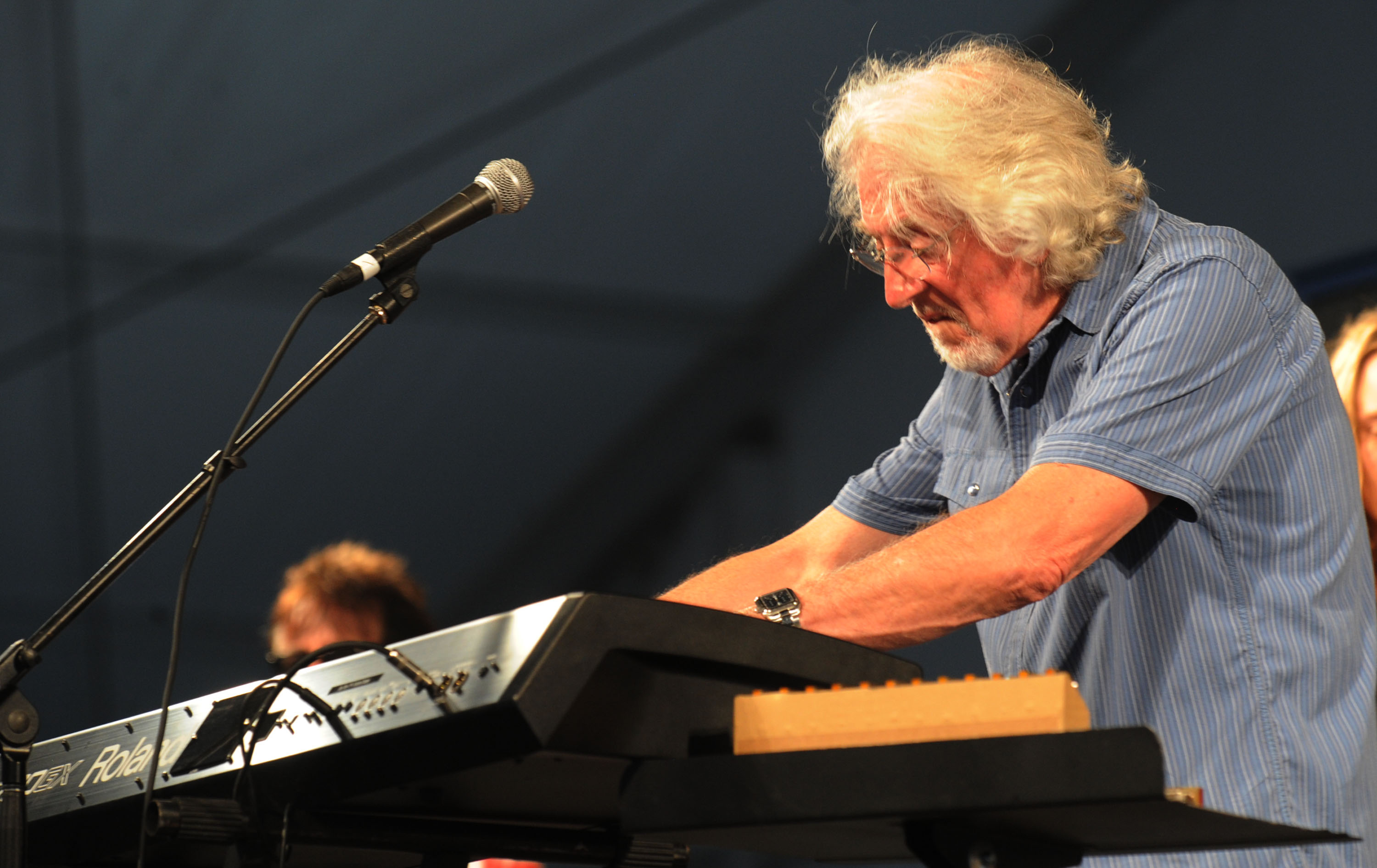 John Mayall will perform at the Niagara Falls Blues Festival.  (Getty Images)