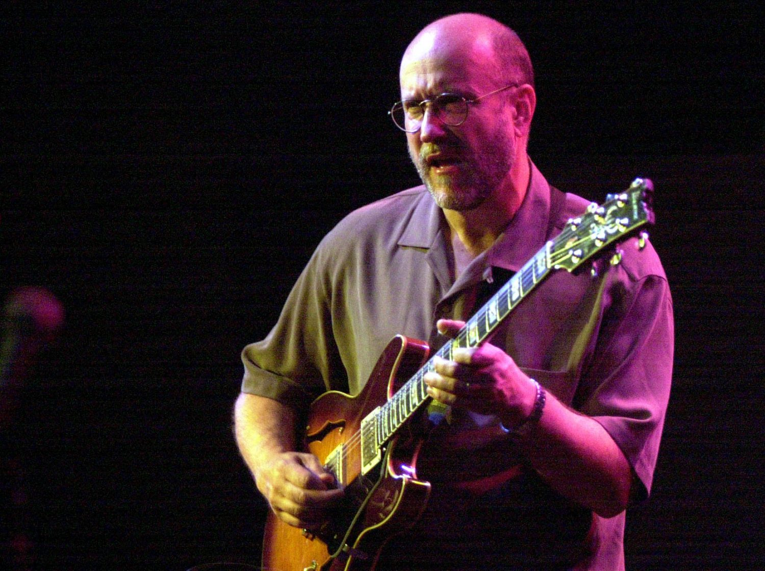 Guitarist John Scofield from a 2001 performance at the Tralfamadore Cafe.  (Derek Gee/Buffalo News)