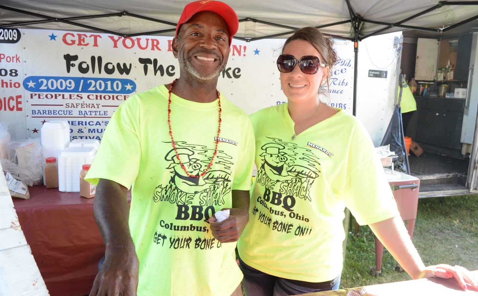 Barbecue specialists from across the U.S. converge upon the Great Pumpkin Festival in Clarence. (Nancy J. Parisi/Special to The News)