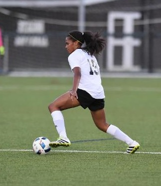 Sabrina Sousa-Sampson has massive potential for the Bonnies. (via SBU Athletics)