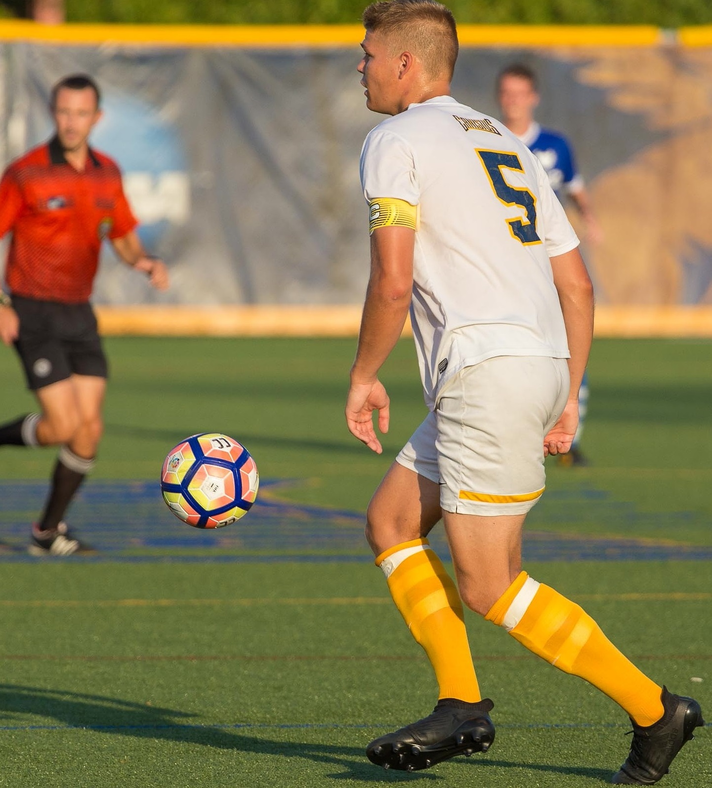 Canisius center back Teupen is a menace in the air and sound with the ball at his feet. (Don Nieman/Special to The News)