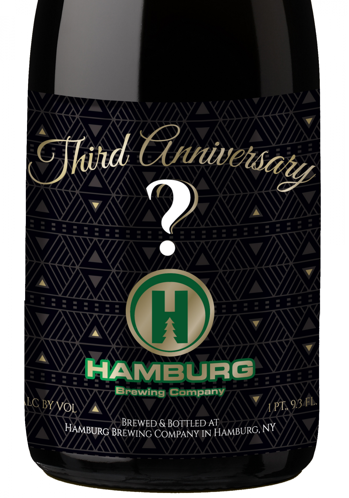 Hamburg Brewing's mystery beer. (via Hamburg)