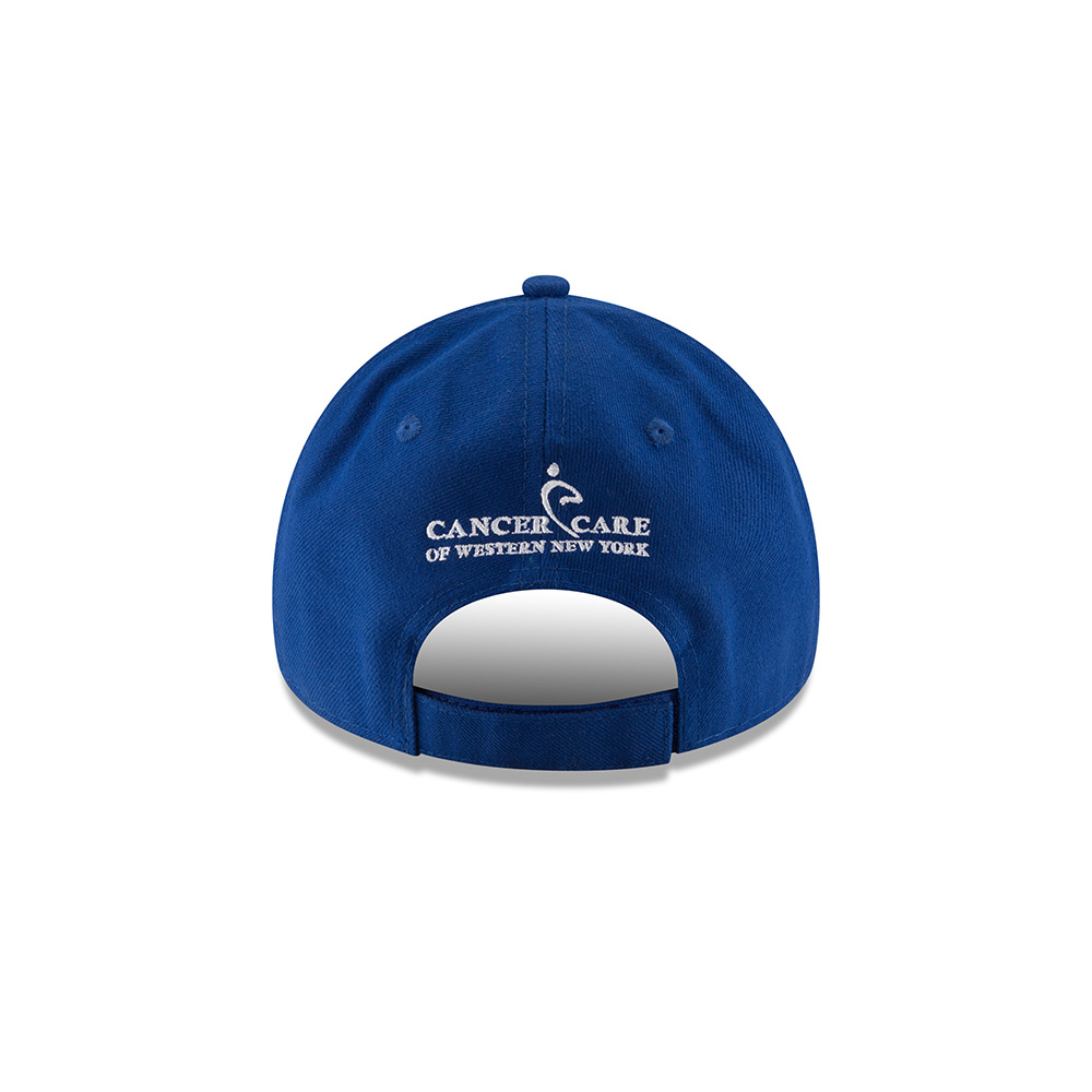 The back of the latest New Era Buffalo Bills cap, emblazoned with the name Cancer Care of Western New York , will be available Thursday at the Bills Store at New Era Field during the season opener.