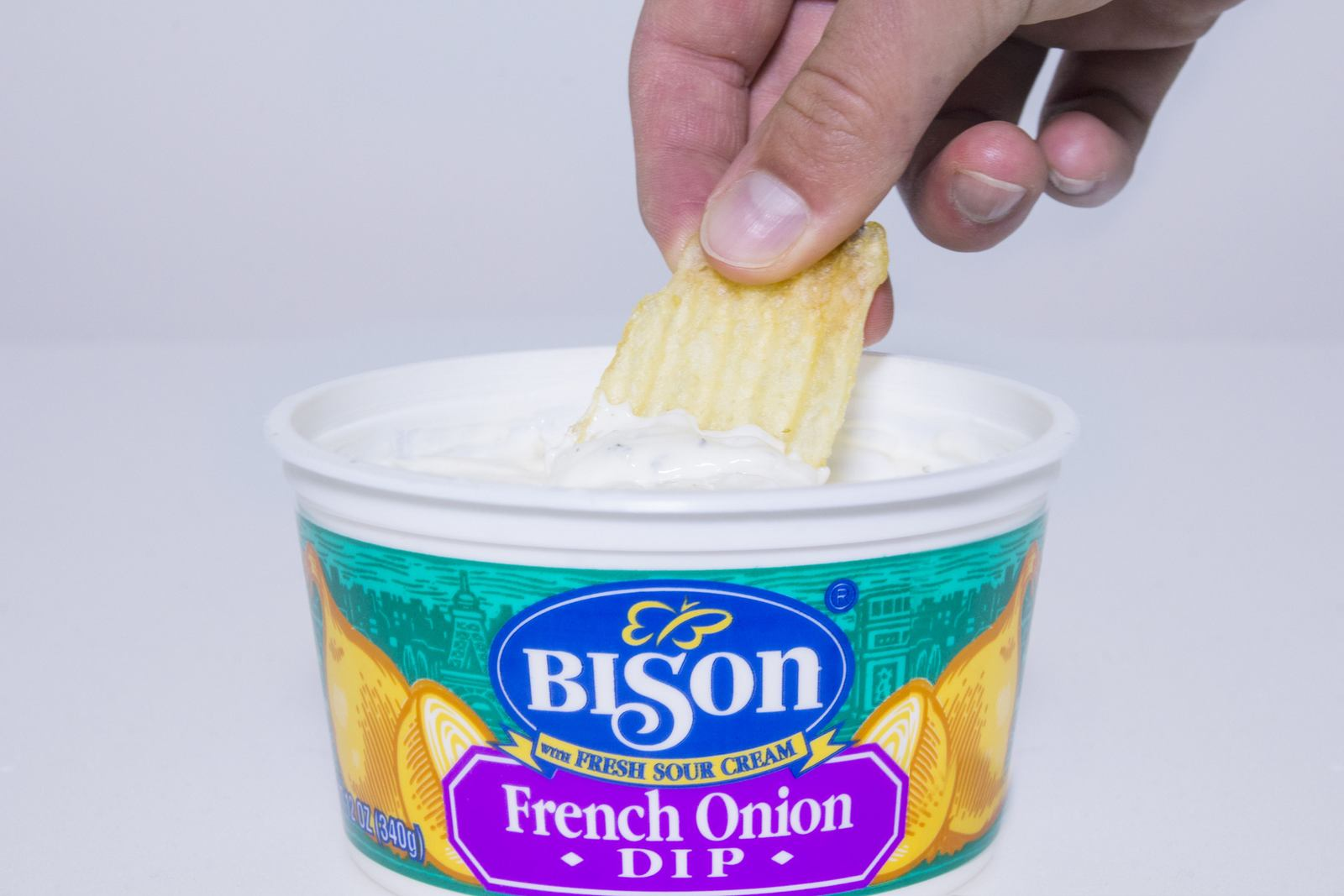 Bison French Onion Dip has been a favorite for generations of Western New Yorkers. (Photo: Upstate Niagara Cooperative)