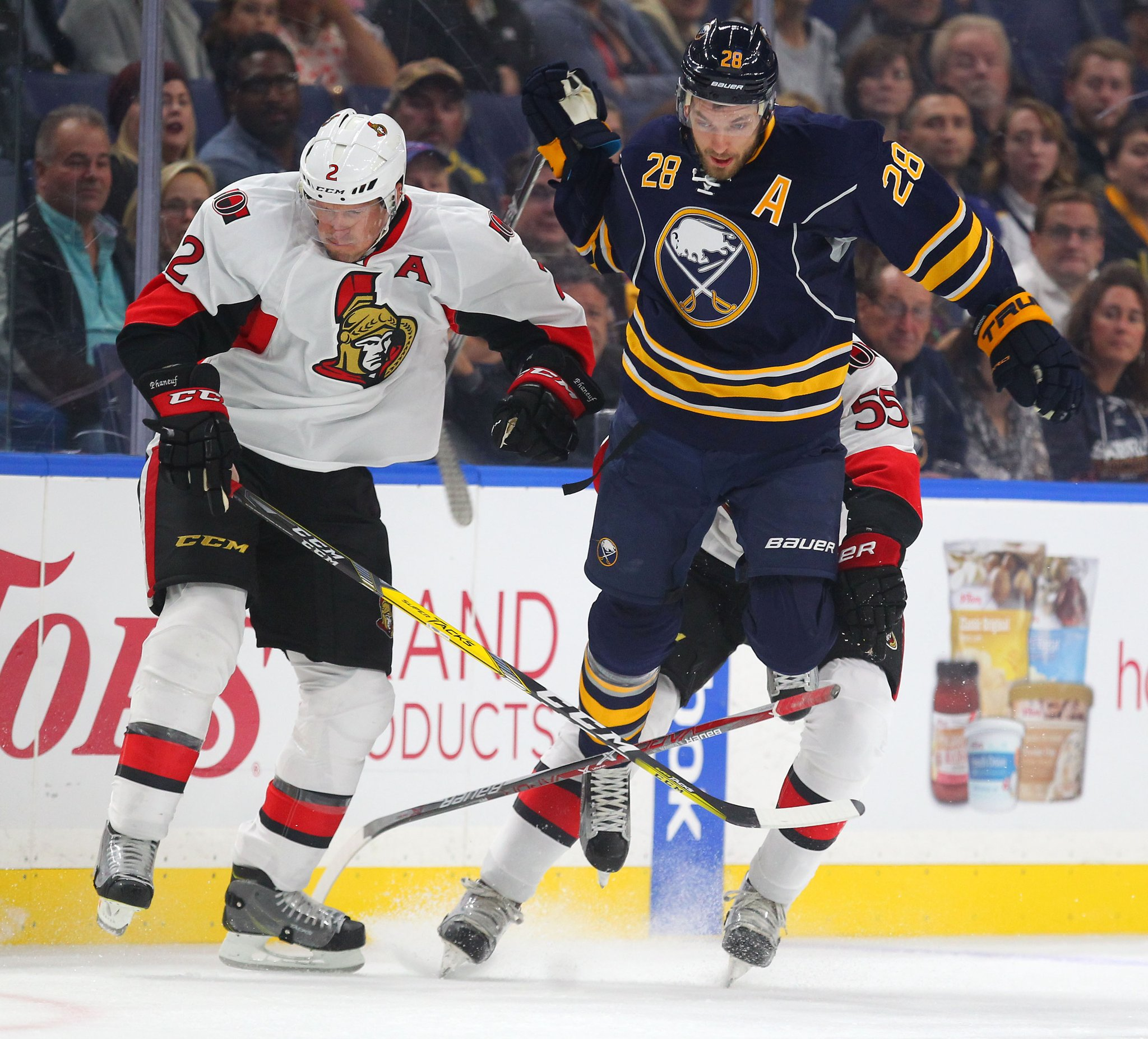 Zemgus Girgensons has signed for two more years (Mark Mulville/Buffalo News)
