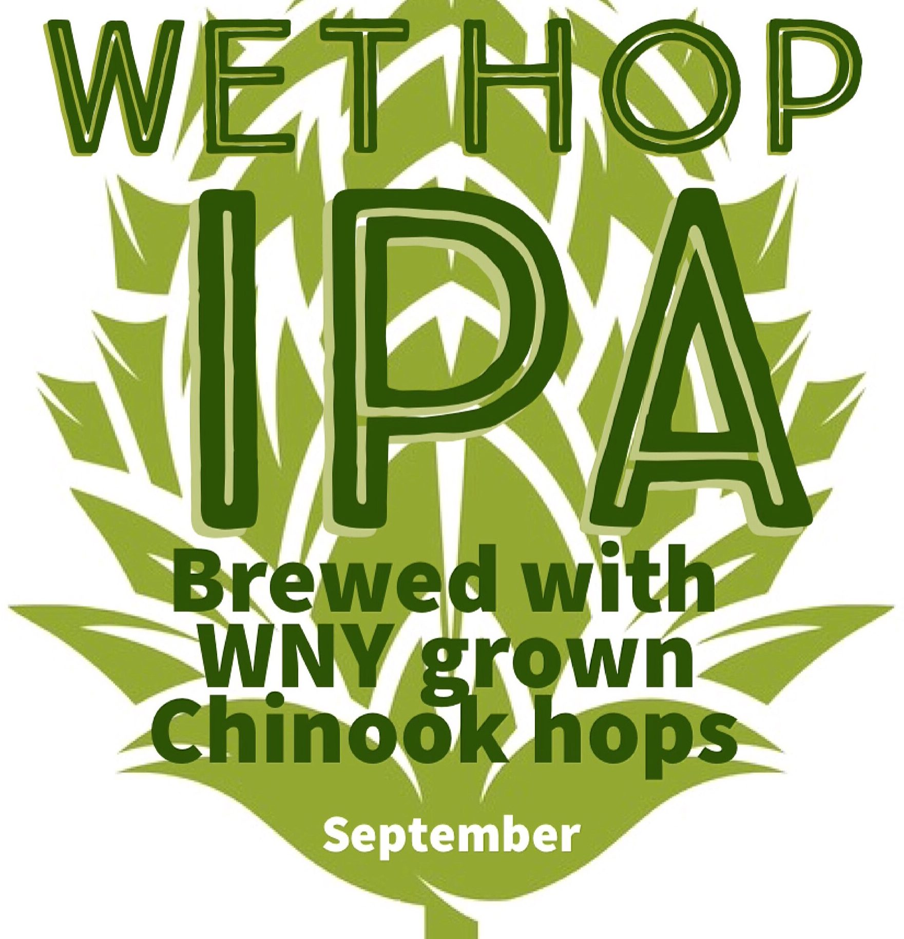 Wet-Hopped IPA is to be released Sept. 16, available only at Woodcock Brothers in Wilson. (photo courtesy of Woodcock Brothers)