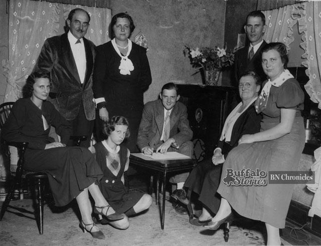 Mayor Schwab and his family.
