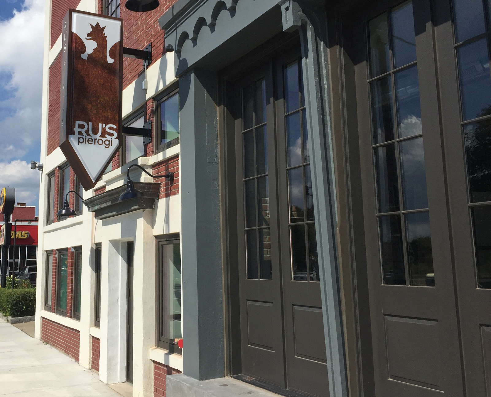 Ru's Pierogi restaurant expects to open at 295 Niagara St. in early October. (Andrew Galarneau/Buffalo News)