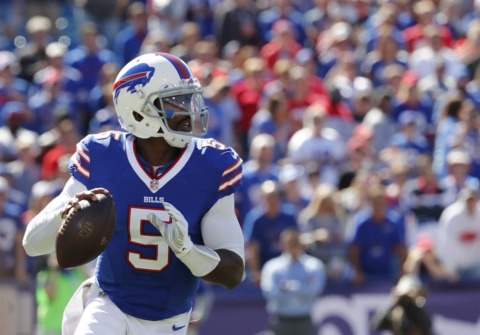 Where do the Bills stand with Tyrod Taylor? (Harry Scull Jr./Buffalo News)