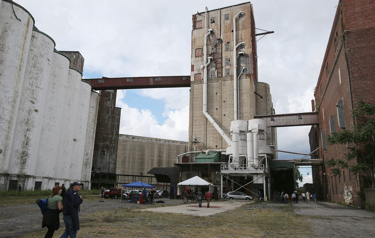 The Perot Malt House at Silo City will feature the immersive performance of 'In the Dark' on April 14. (Buffalo News file photo)