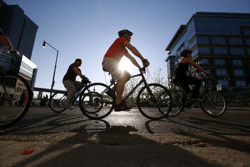 Slow Roll Buffalo will start on Hertel Avenue Monday night. (Harry Scull Jr./Buffalo News file photo)