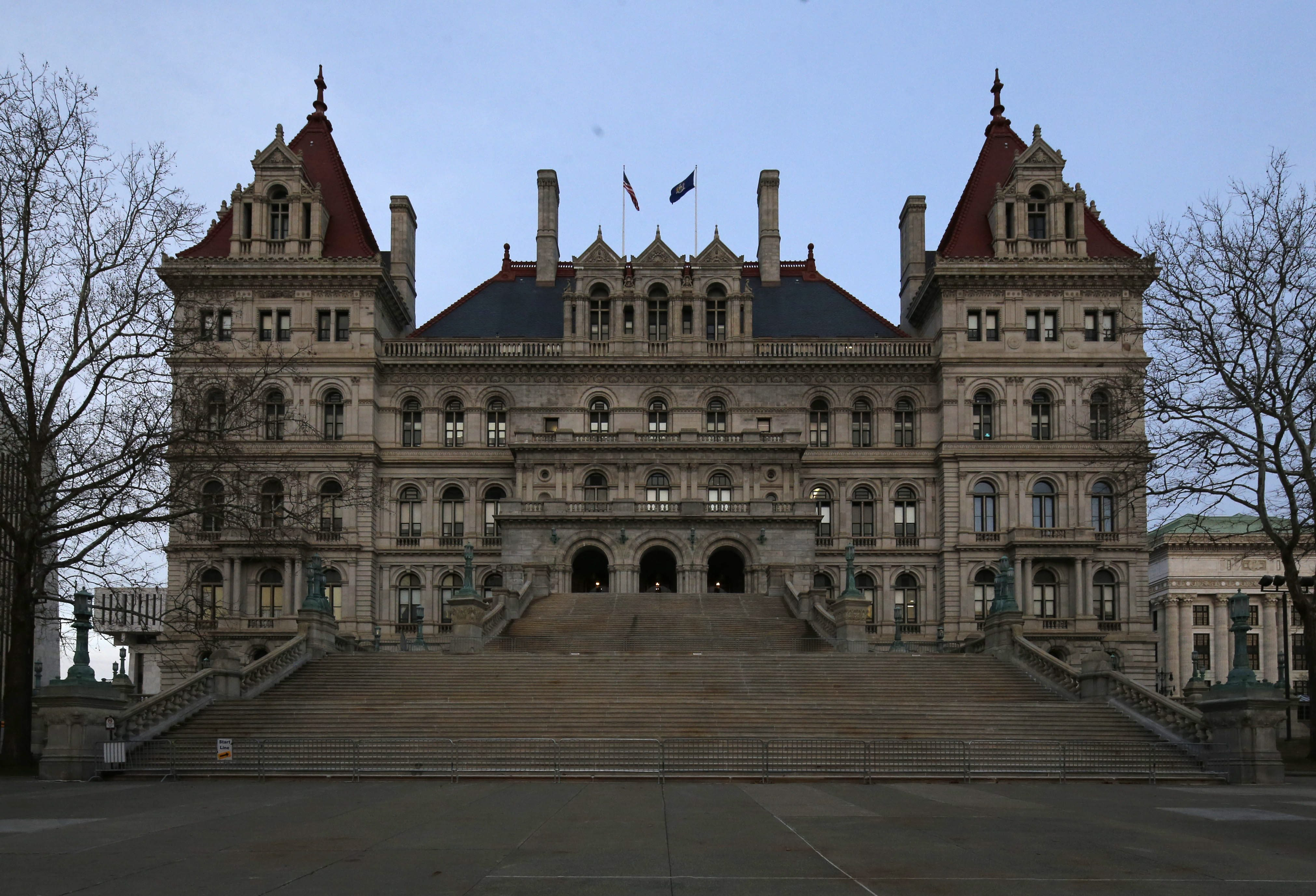 The issue of limits on outside income stands between state legislators and a raise. (Derek Gee/Buffalo News file photo)