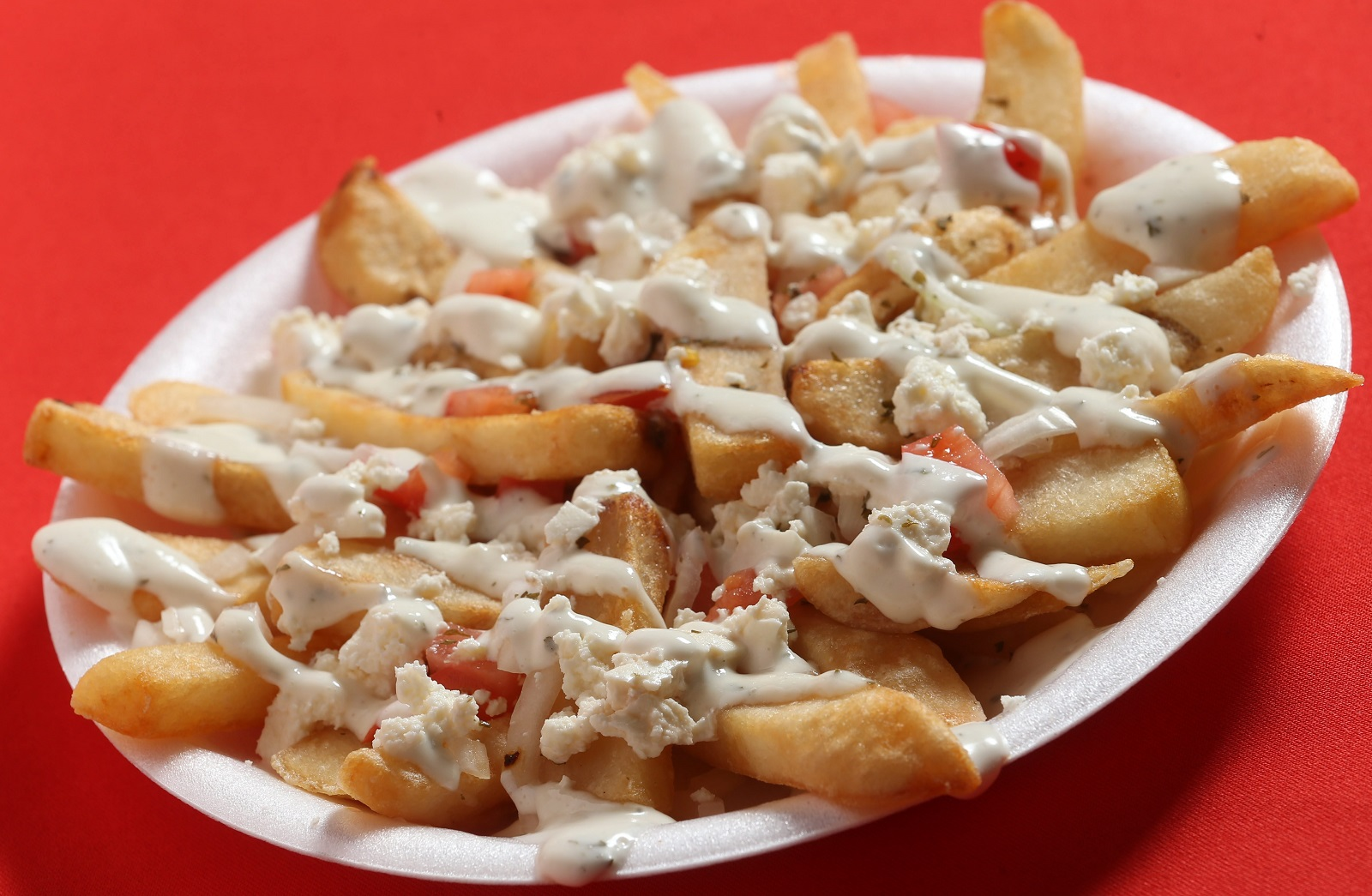 Venus Mediterranean is known for its Greek fries. (Sharon Cantillon/Buffalo News)