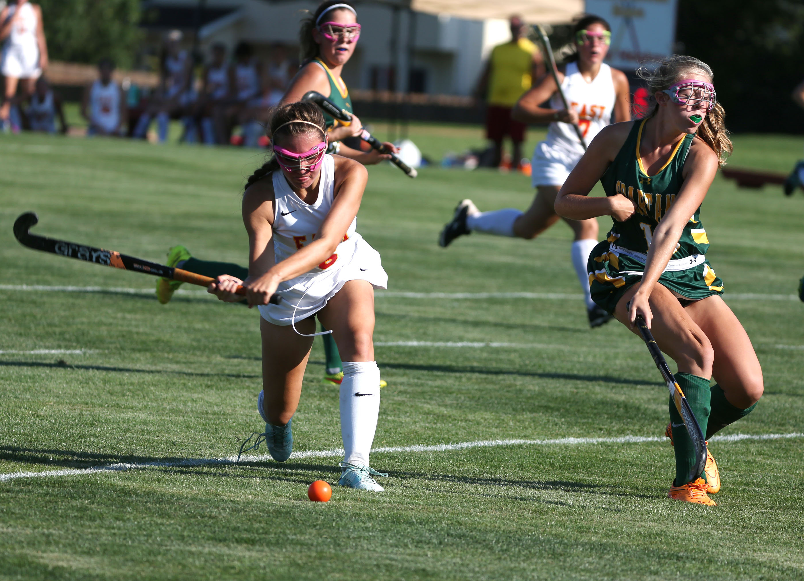 Williamsville East and Williamsville North are ranked No. 5 and 6, respectively, in this week's field hockey poll.  (James P. McCoy/ Buffalo News)
