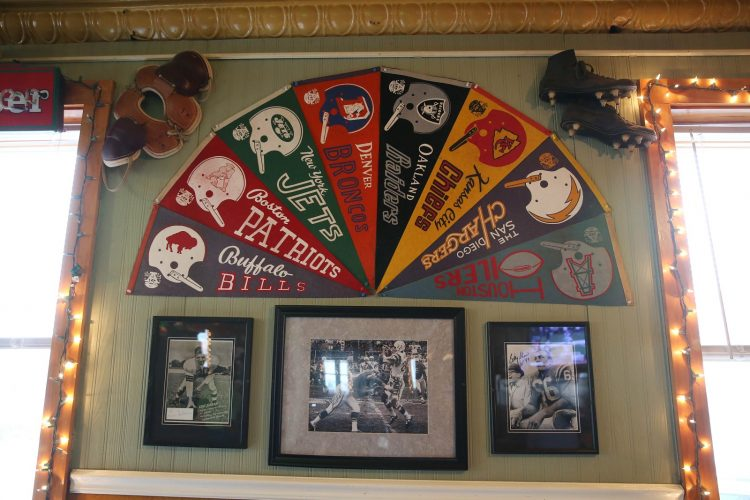 Marinaro's Larkin Tavern is a sports memorabilia haven