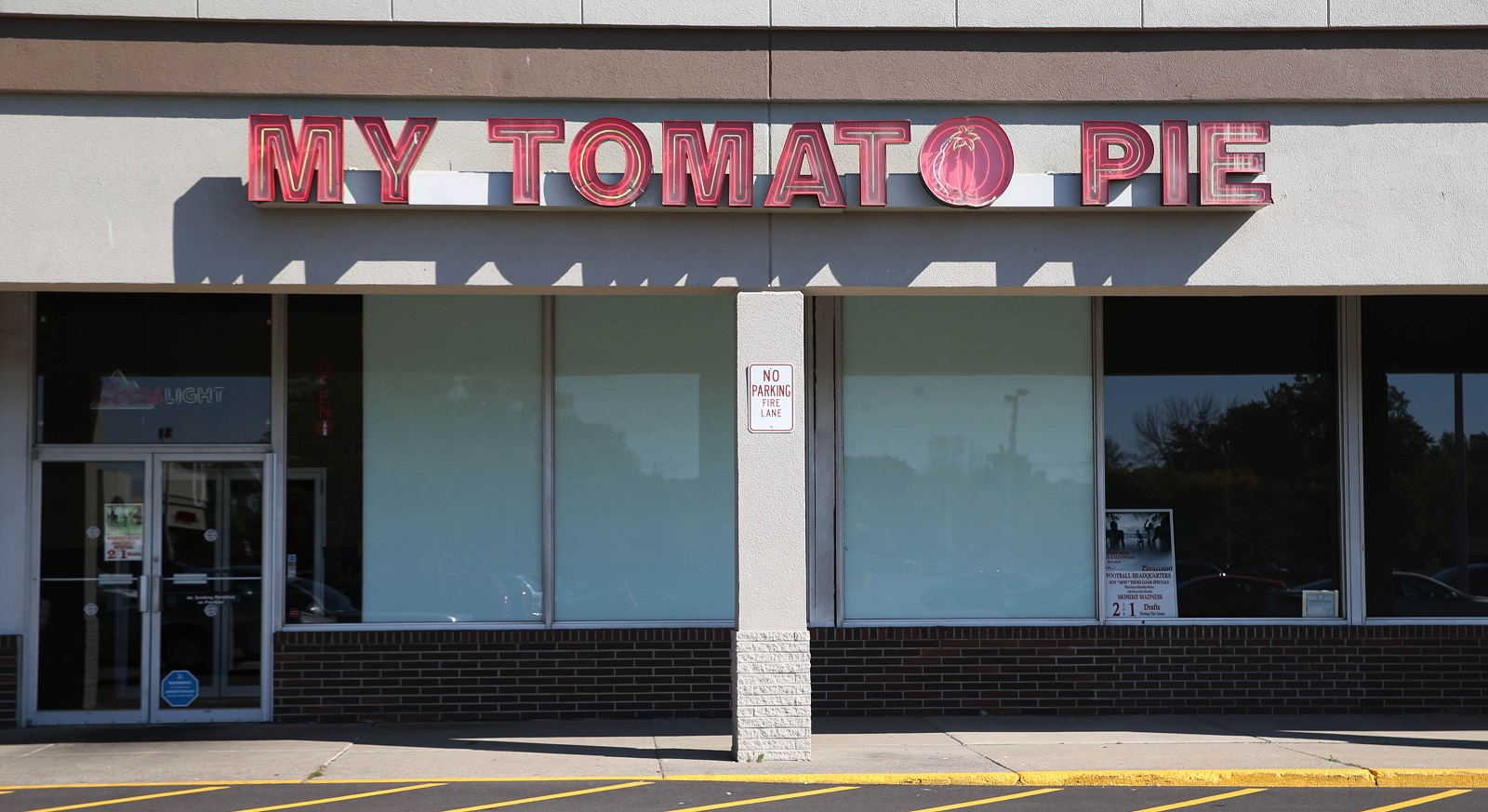 My Tomato Pie is at 3035 Niagara Falls Boulevard in the Tops Markets plaza in Amherst. (Sharon Cantillon/Buffalo News)