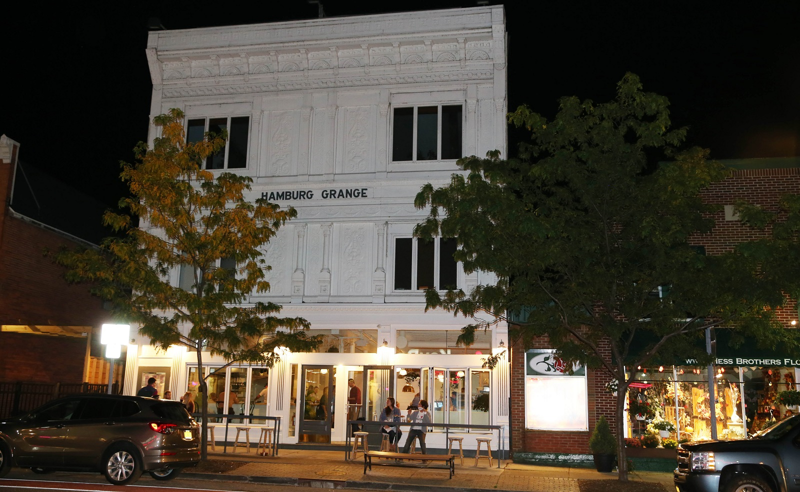 The Grange is a Hamburg restaurant opened by Brad Rowell, former chef at Elm Street Bakery. (Sharon Cantillon/Buffalo News)