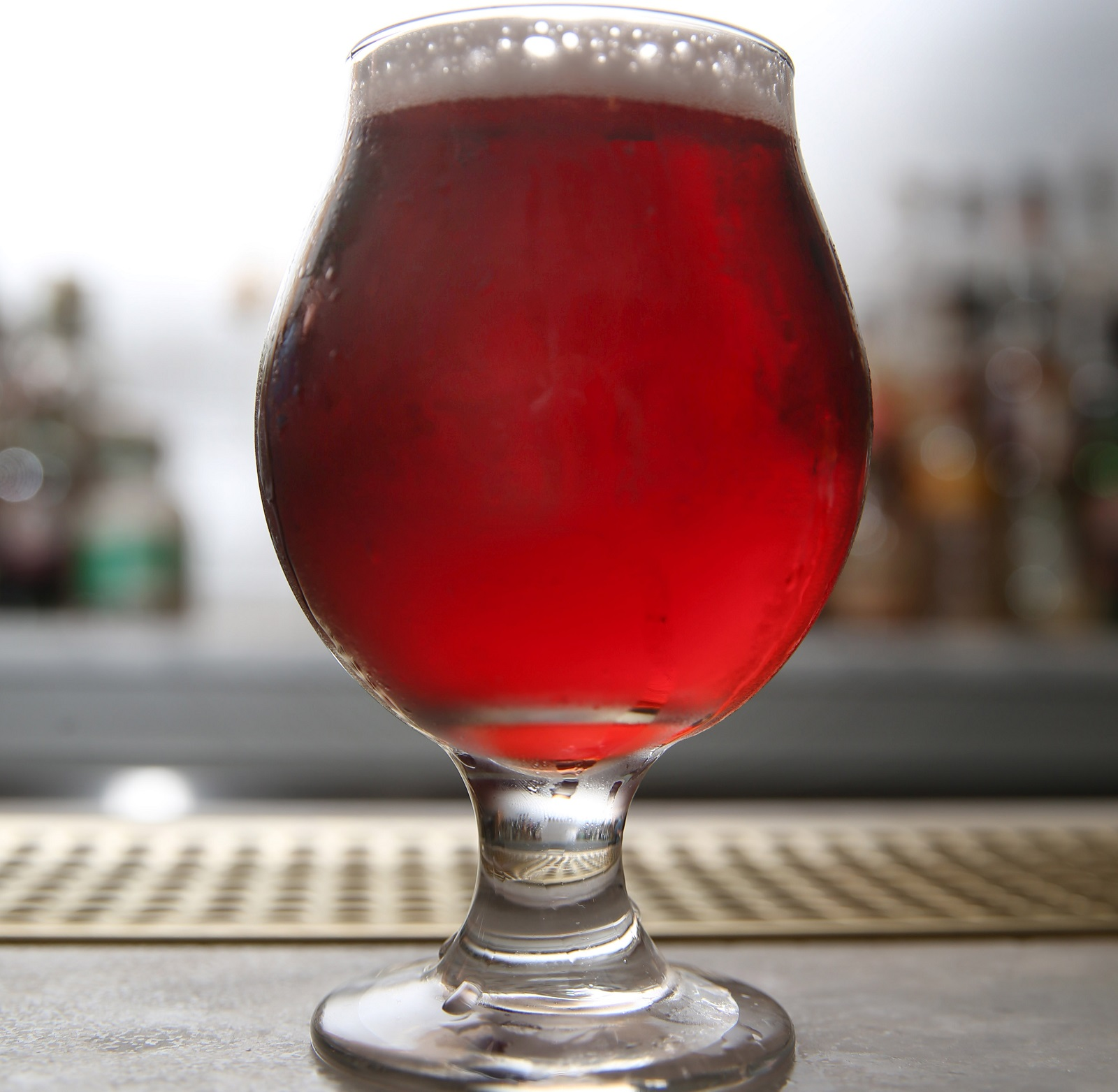 The Steampunk cherry cider, made by Leonard Oakes Estate Winery, is available at the Grange. (Sharon Cantillon/Buffalo News)
