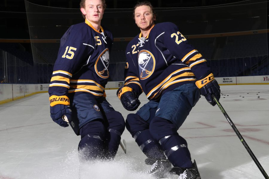 Two of a kind: Sabres' Eichel and Reinhart aim to be an iconic duo